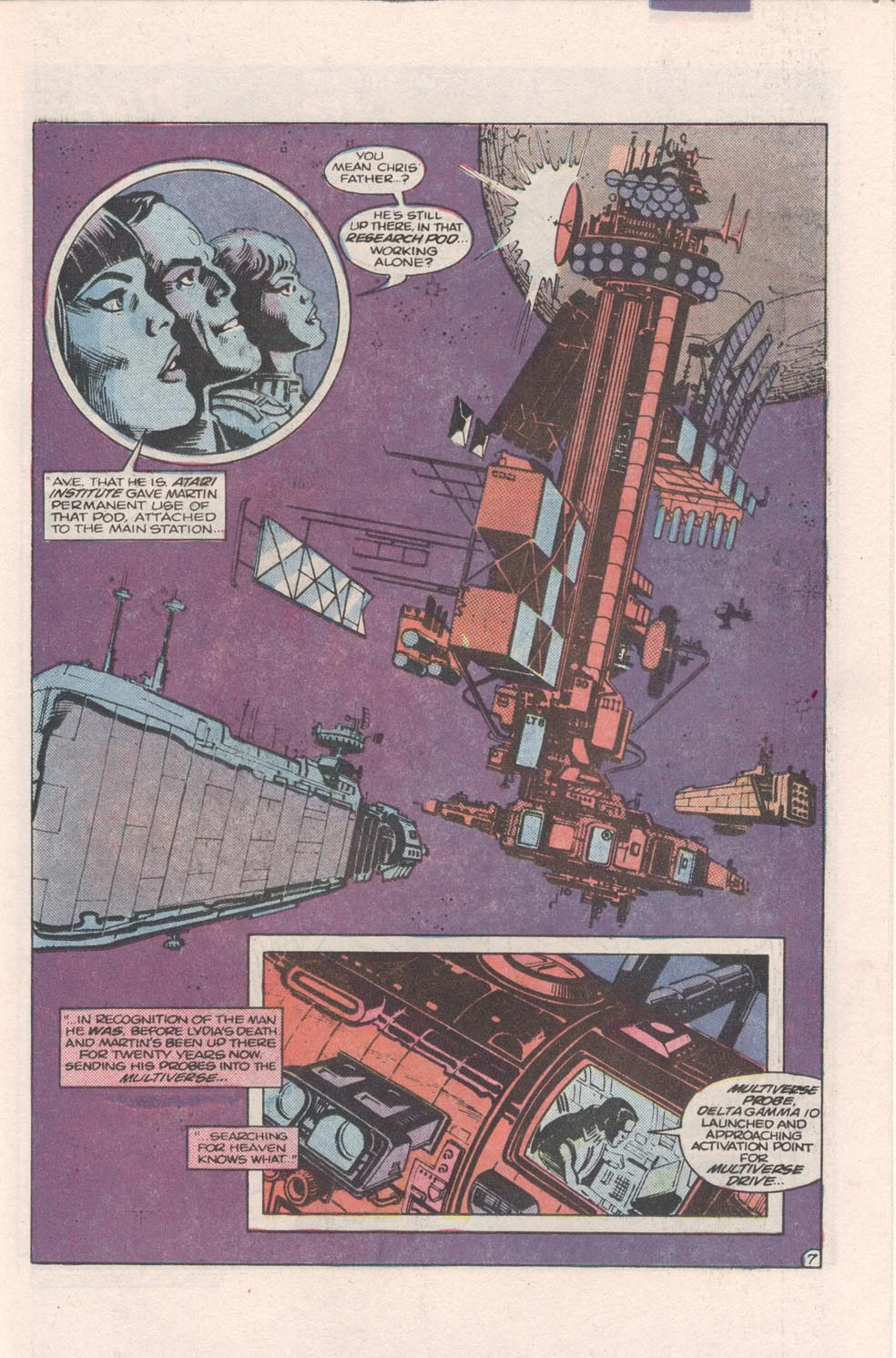 Read online Atari Force (1984) comic -  Issue #4 - 8