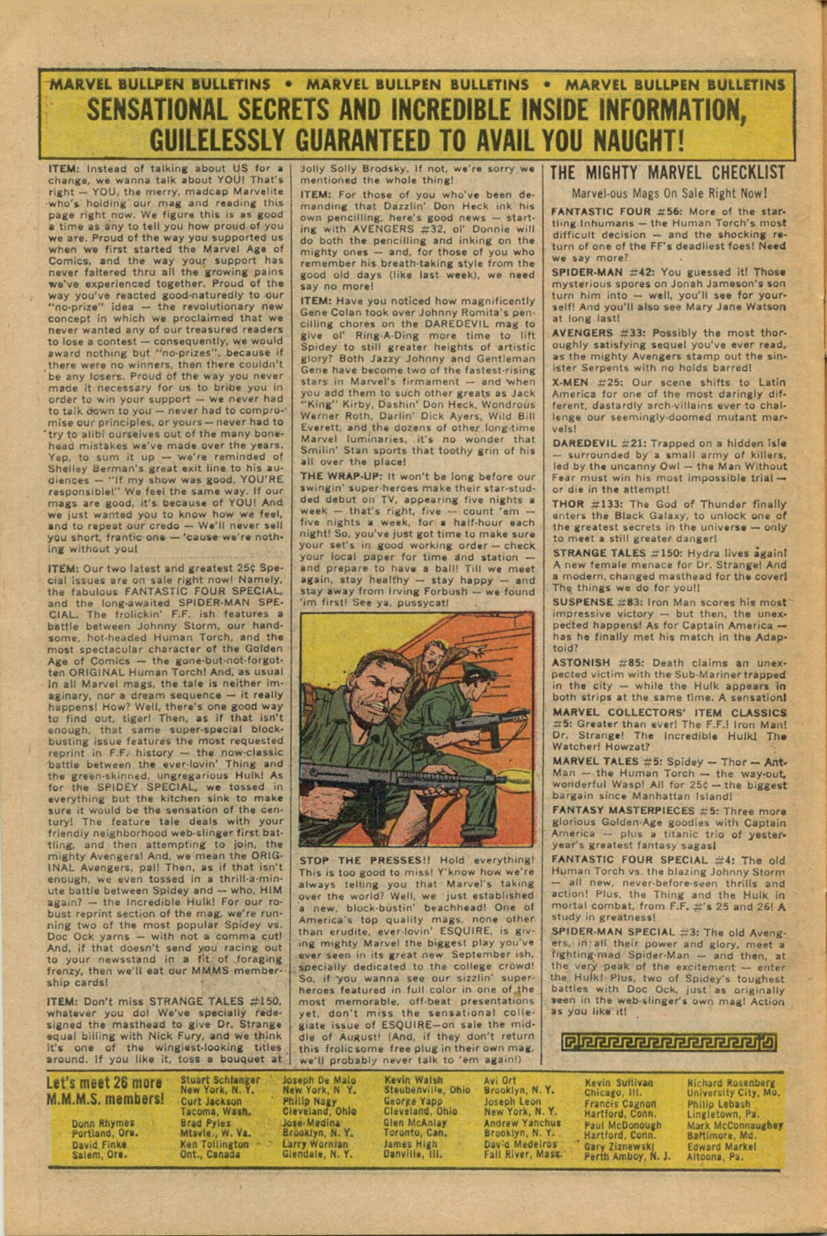Read online Sgt. Fury comic -  Issue #35 - 30