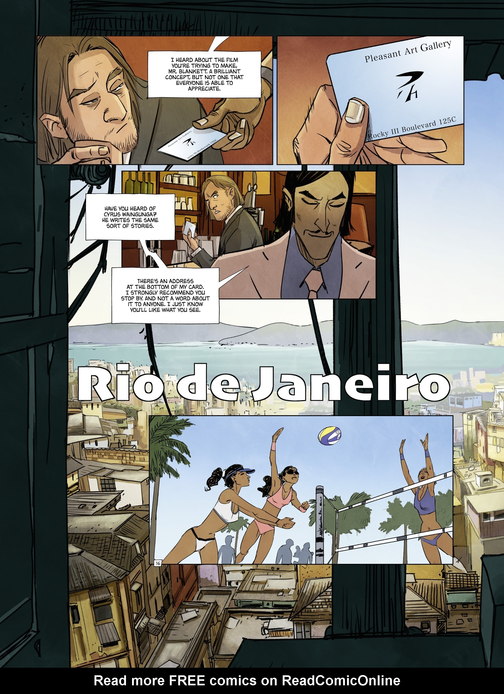 Read online Jack Wolfgang comic -  Issue #3 - 20