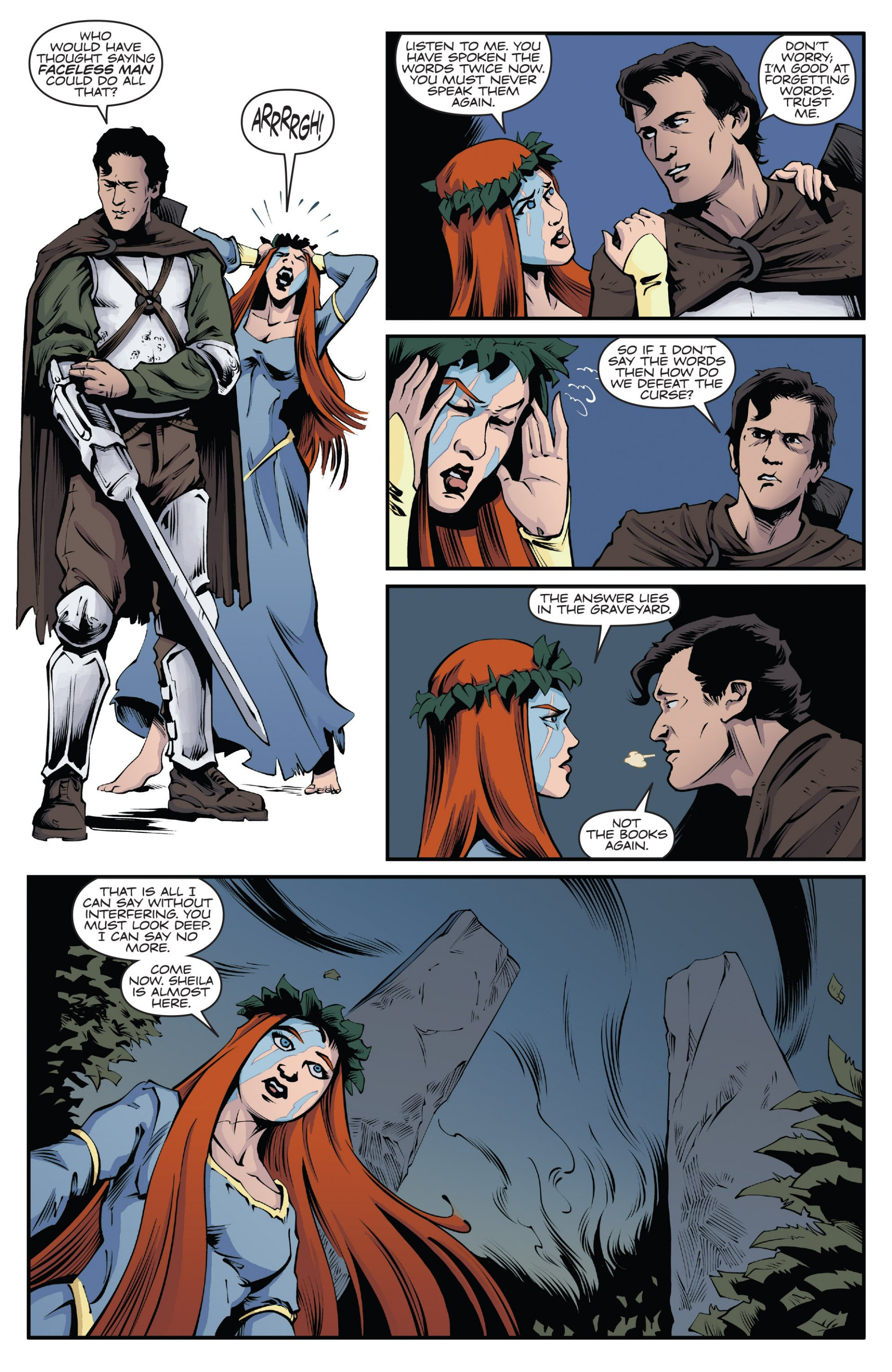 Read online Ash and the Army of Darkness comic -  Issue #7 - 13