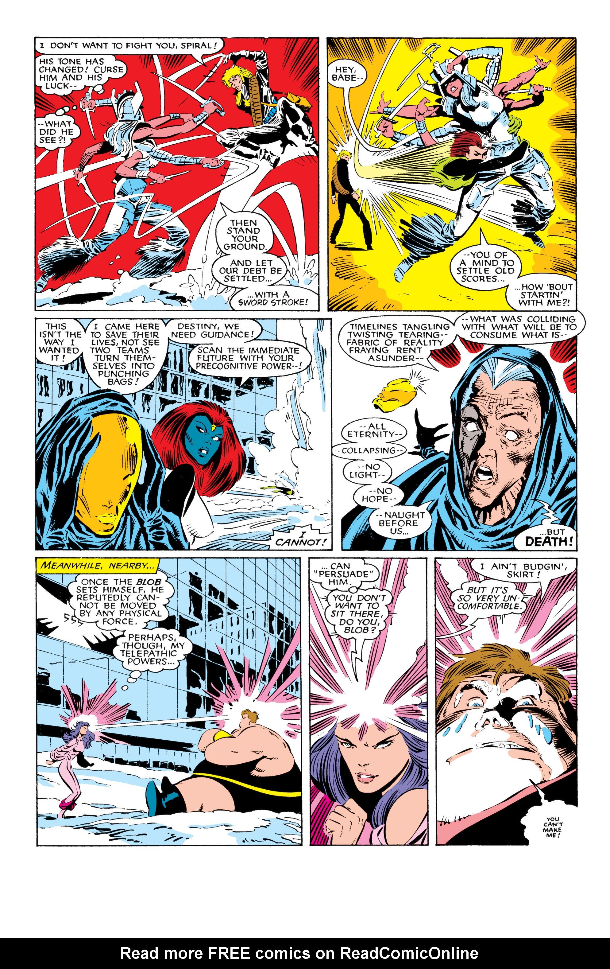 Read online Uncanny X-Men (1963) comic -  Issue #225 - 20
