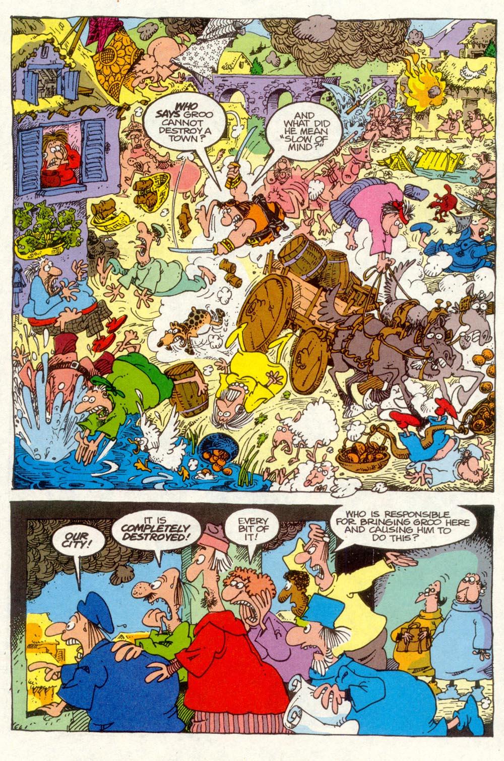 Read online Sergio Aragonés Groo the Wanderer comic -  Issue #90 - 22