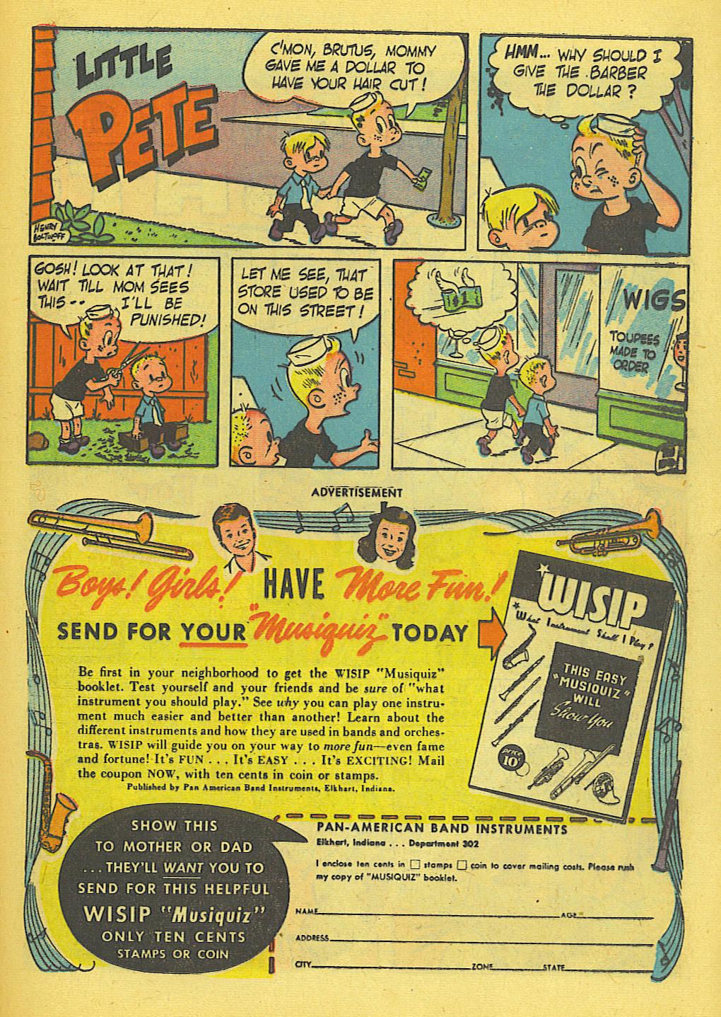 Read online Adventure Comics (1938) comic -  Issue #138 - 31