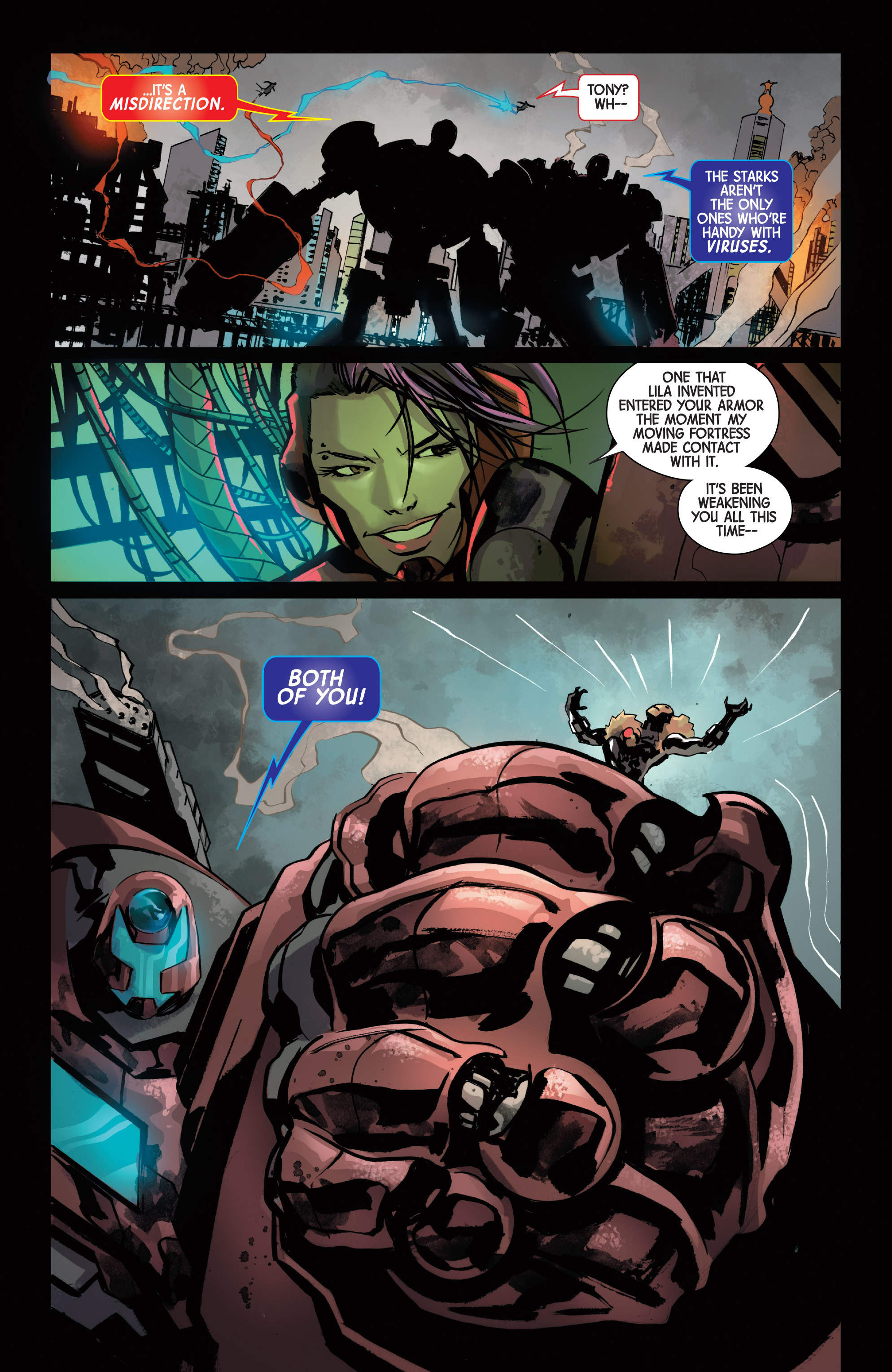 Read online Armor Wars comic -  Issue #5 - 16