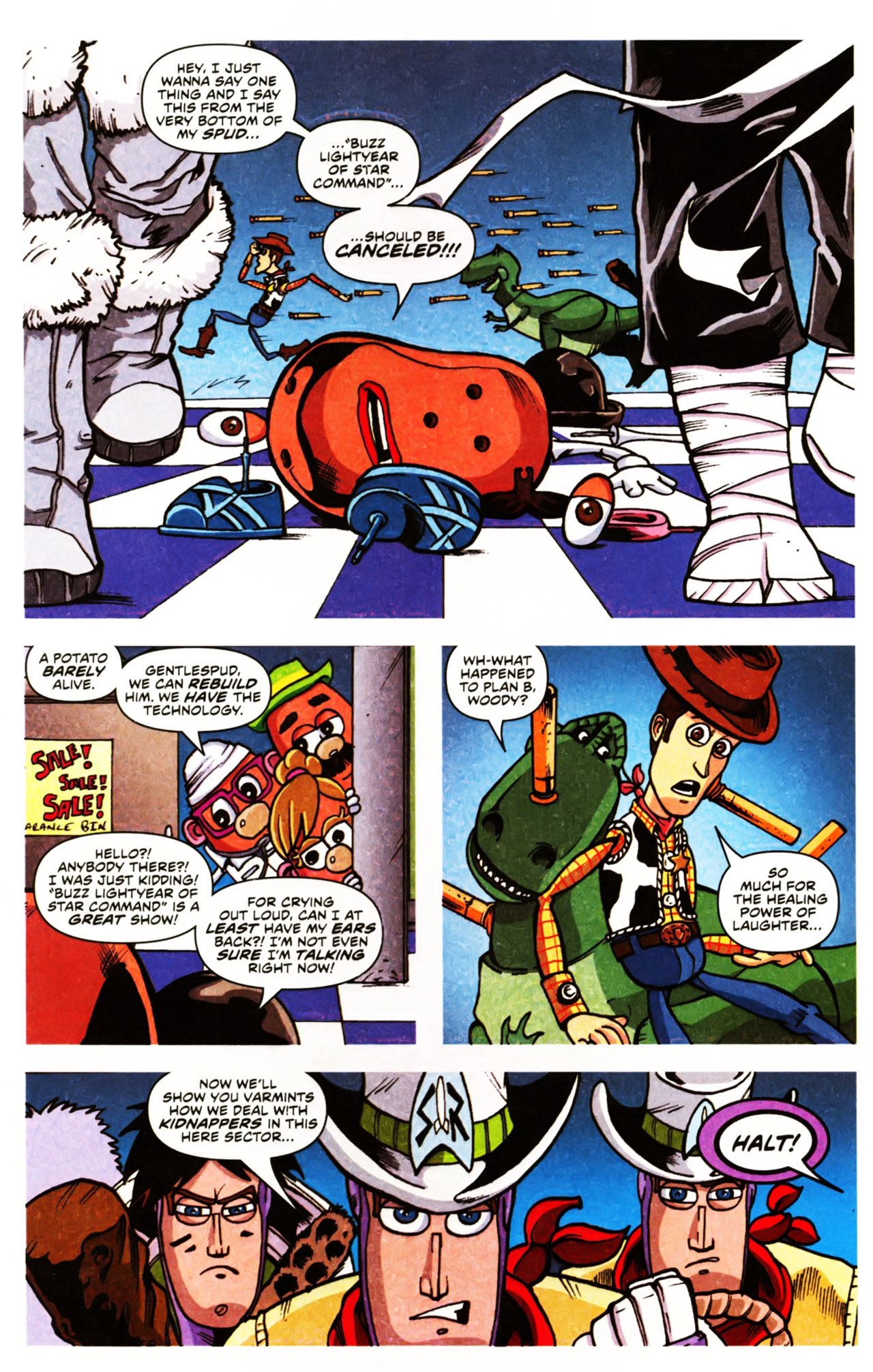 Read online Toy Story (2009) comic -  Issue #2 - 12