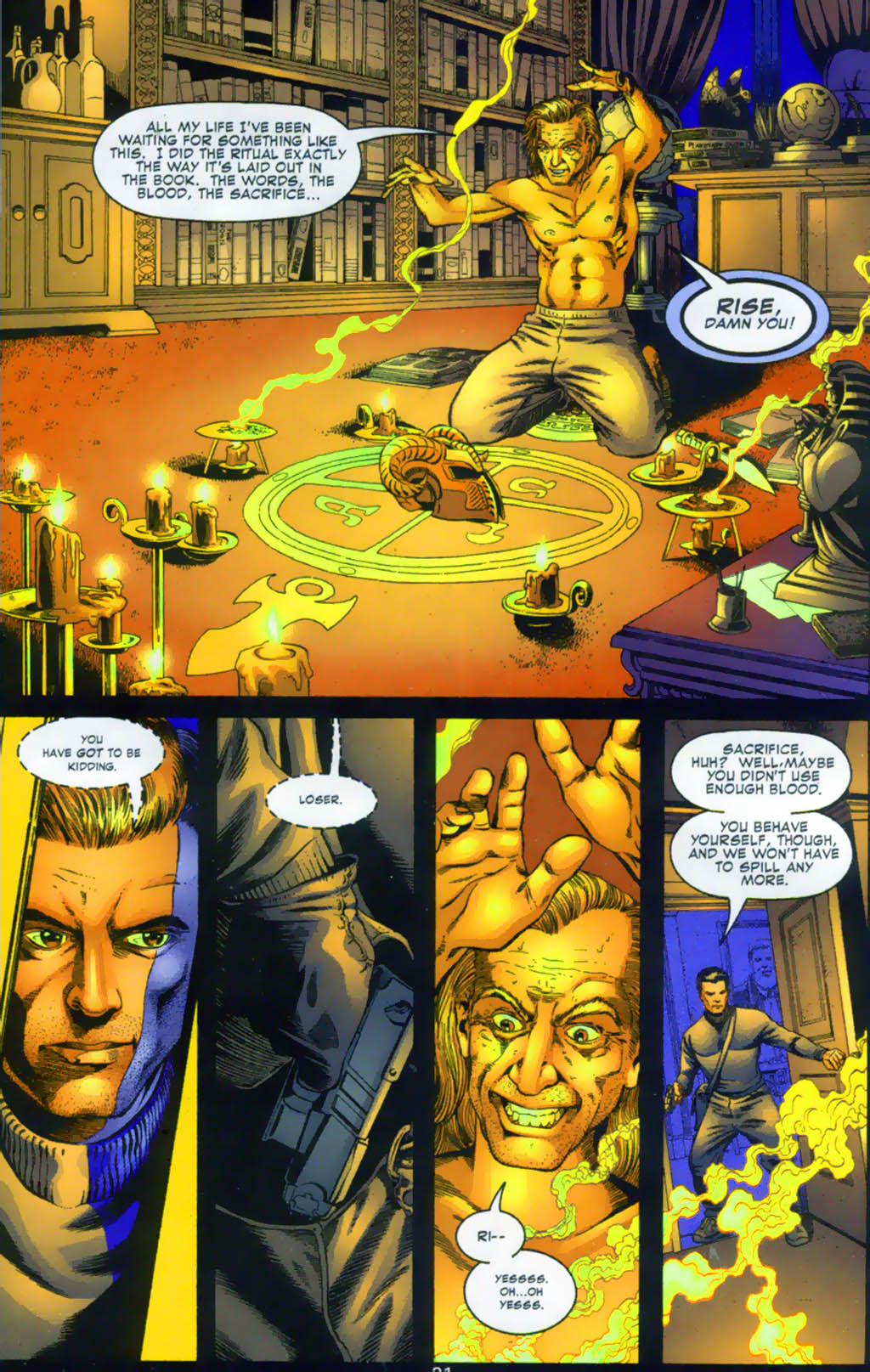 Read online Doctor Fate (2003) comic -  Issue #1 - 21