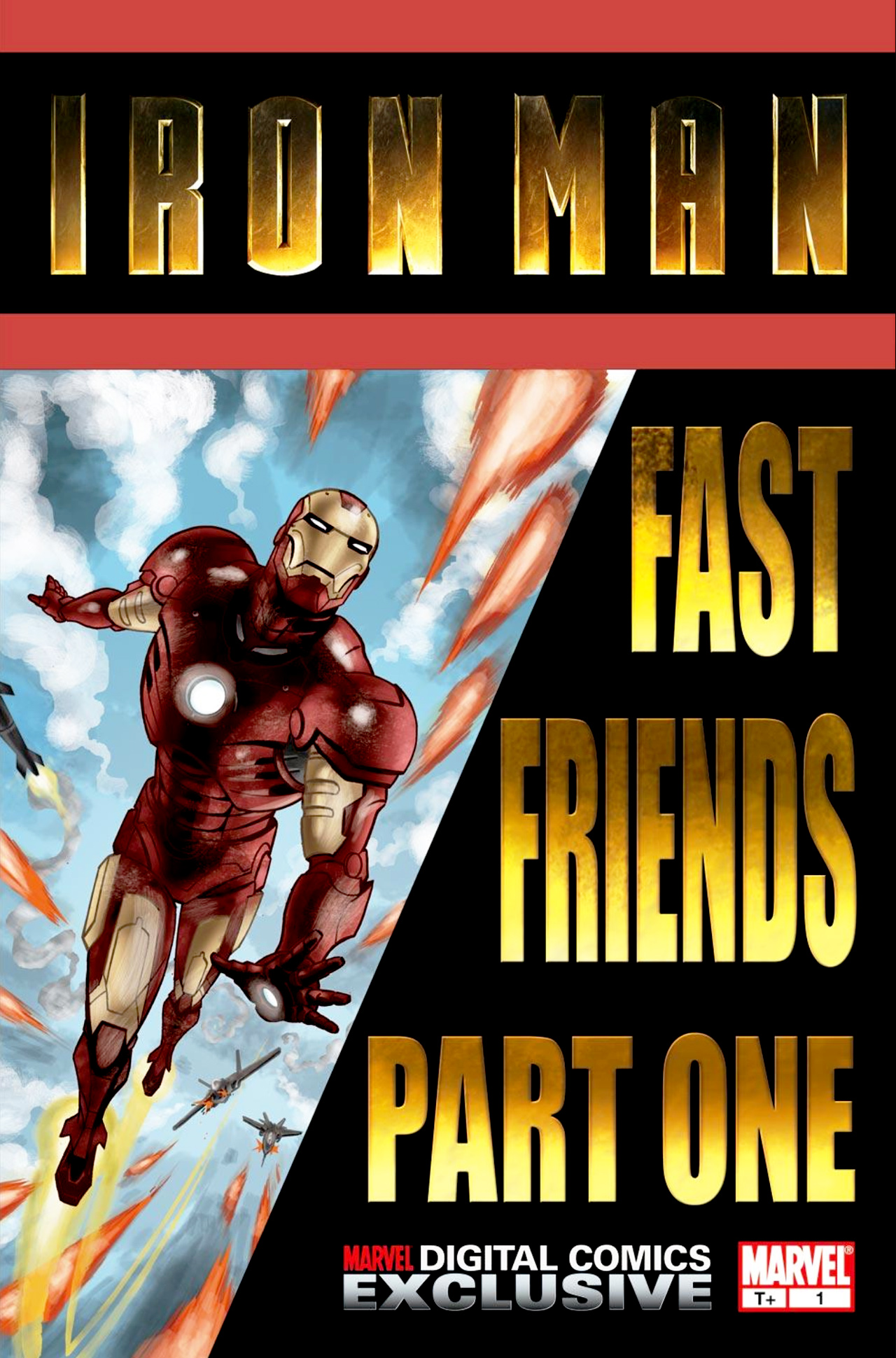 Read online Iron Man: Fast Friends comic -  Issue #1 - 1