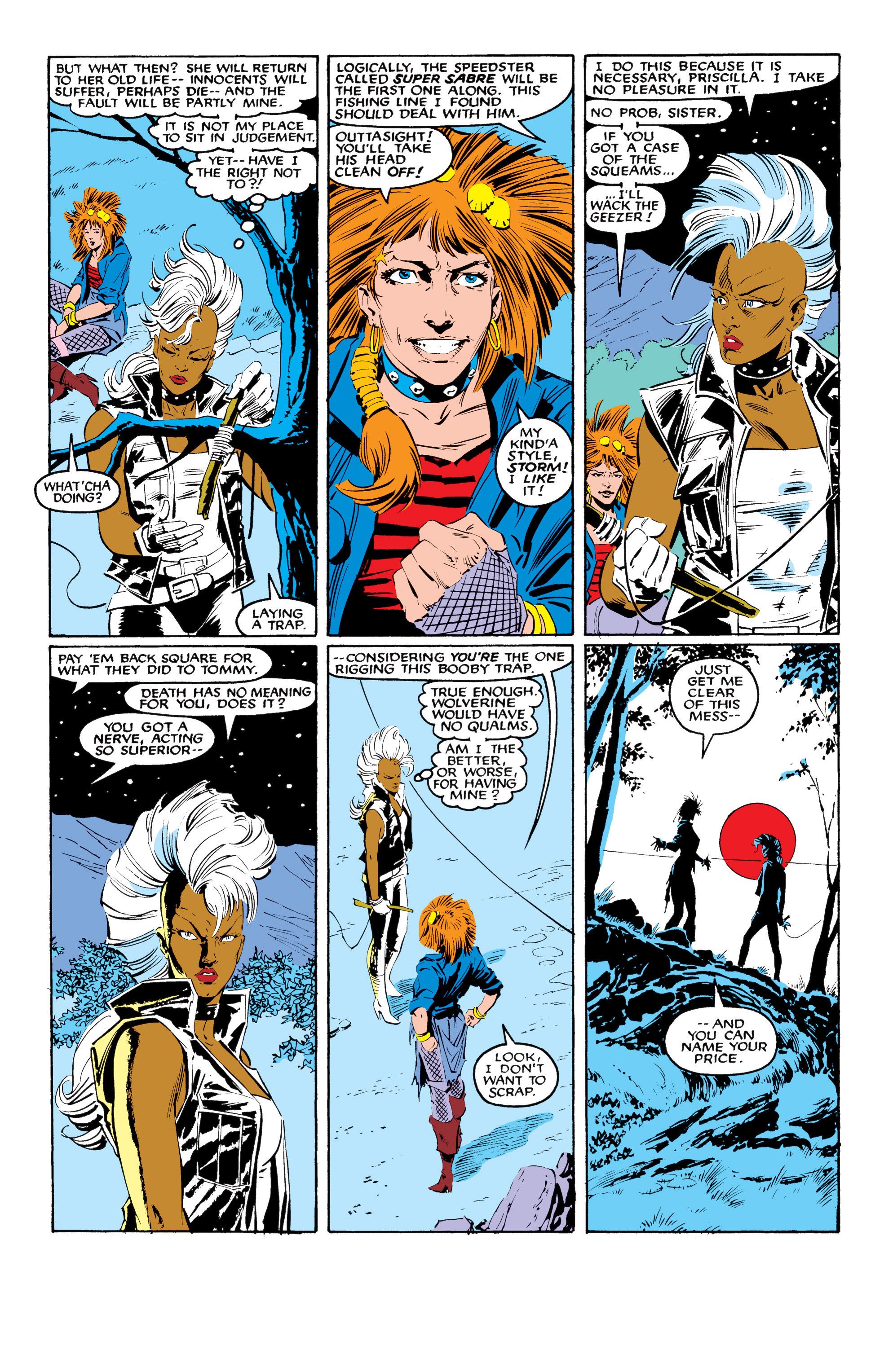 Read online Uncanny X-Men (1963) comic -  Issue #216 - 6