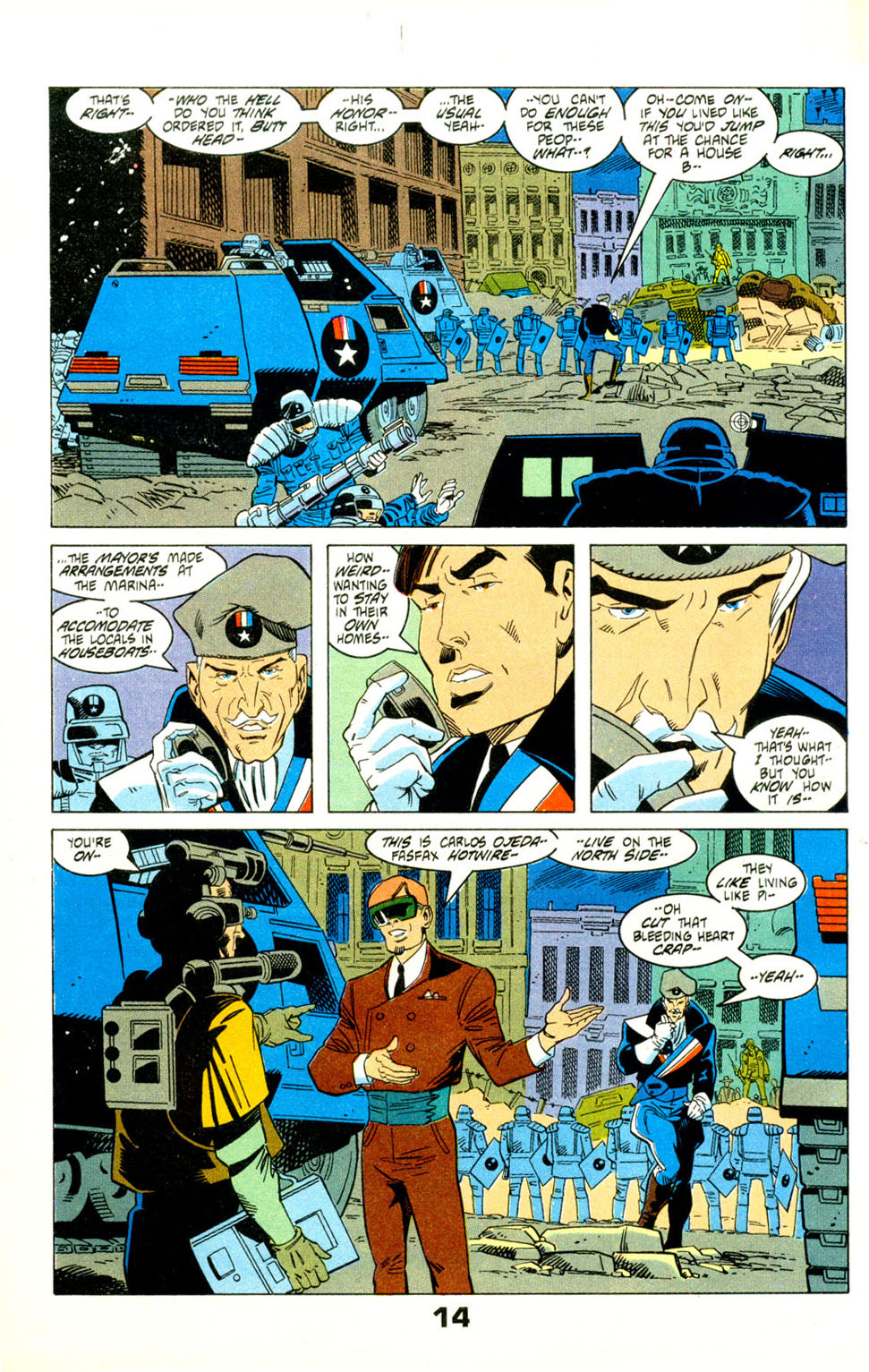 Read online American Flagg! comic -  Issue #29 - 17