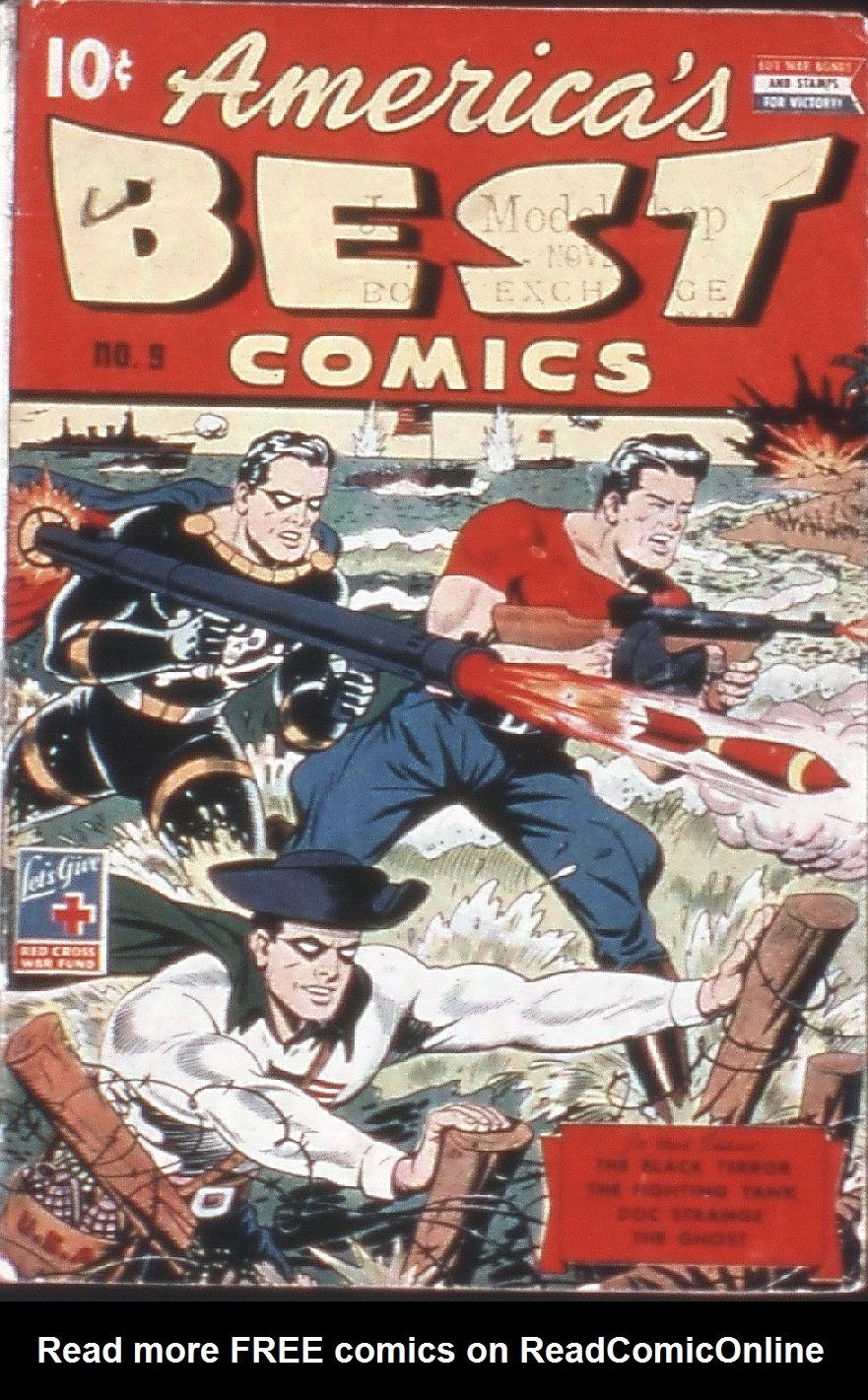 Americas Best Comics 9 Page 1