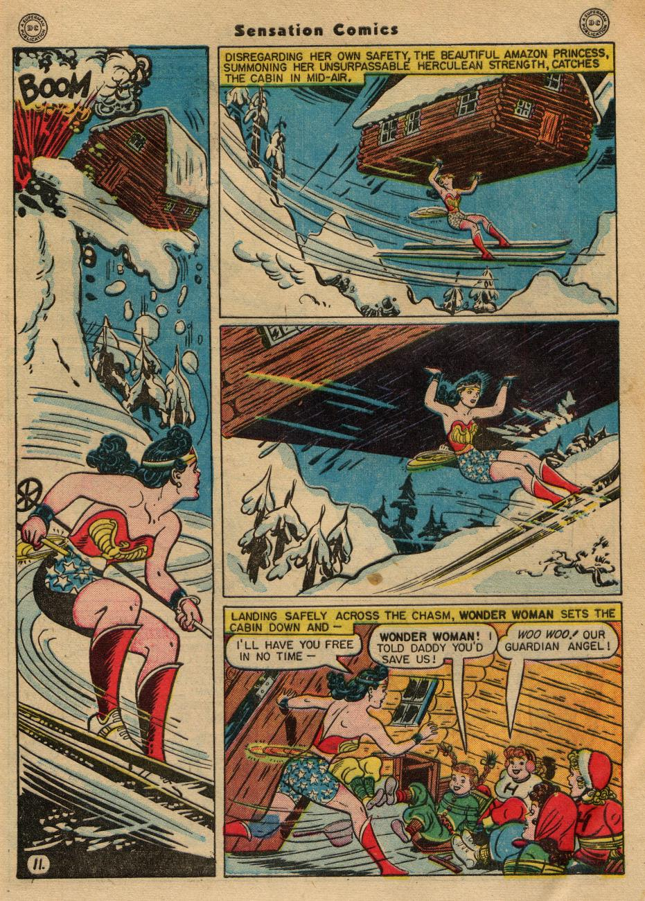 Read online Sensation (Mystery) Comics comic -  Issue #49 - 13