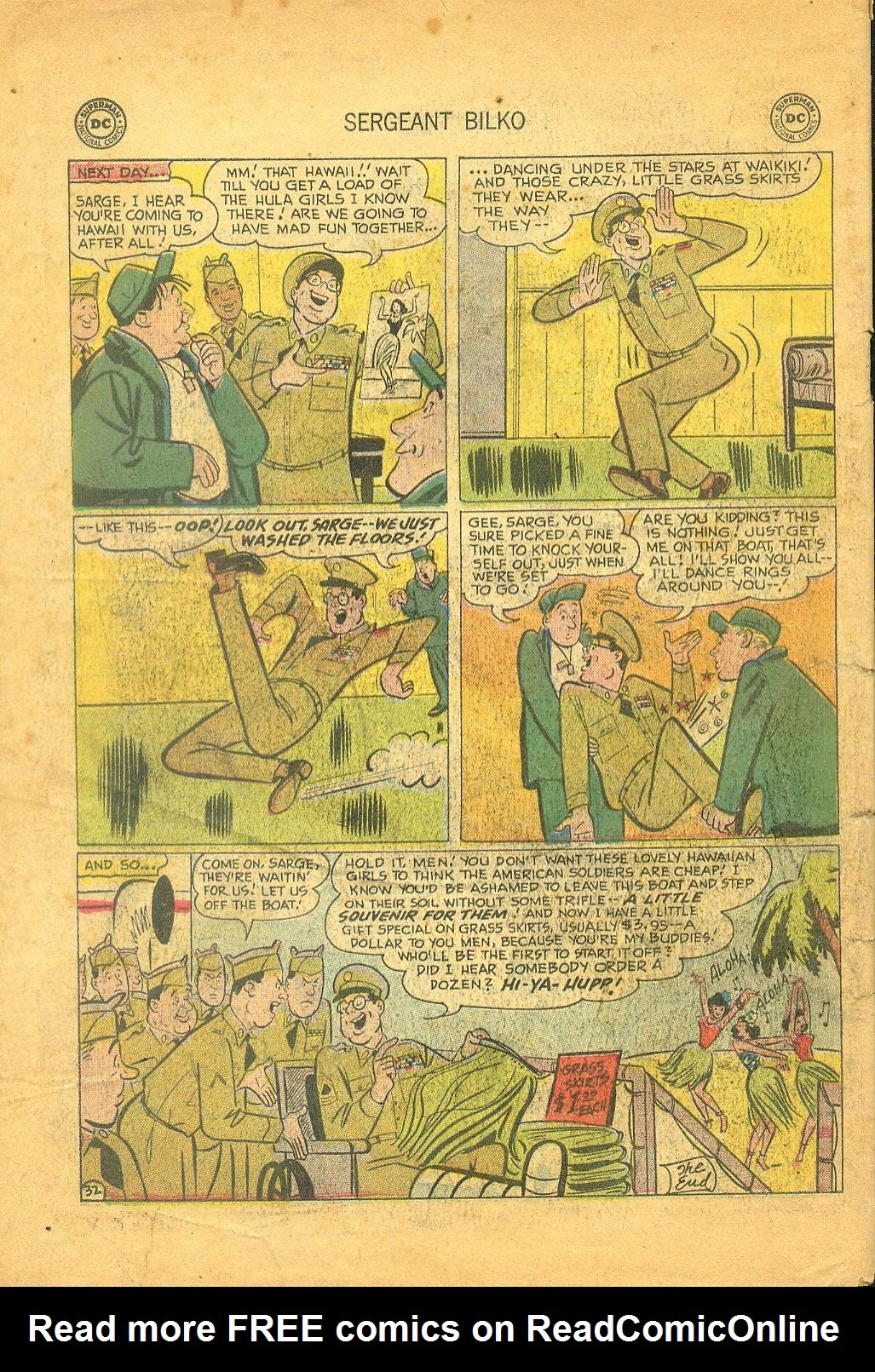 Sergeant Bilko issue 1 - Page 34