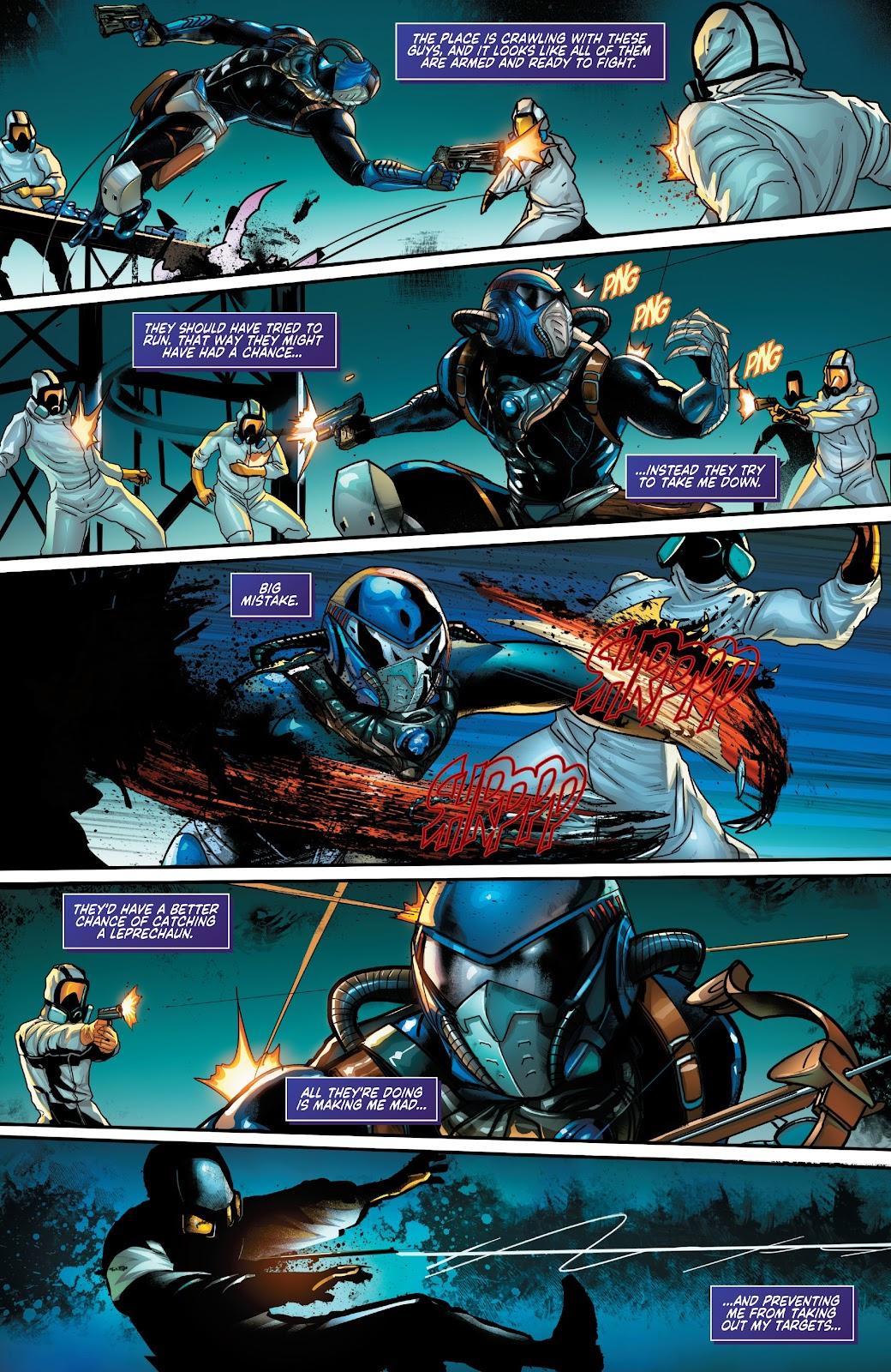 Read online Zodiac comic -  Issue #1 - 8