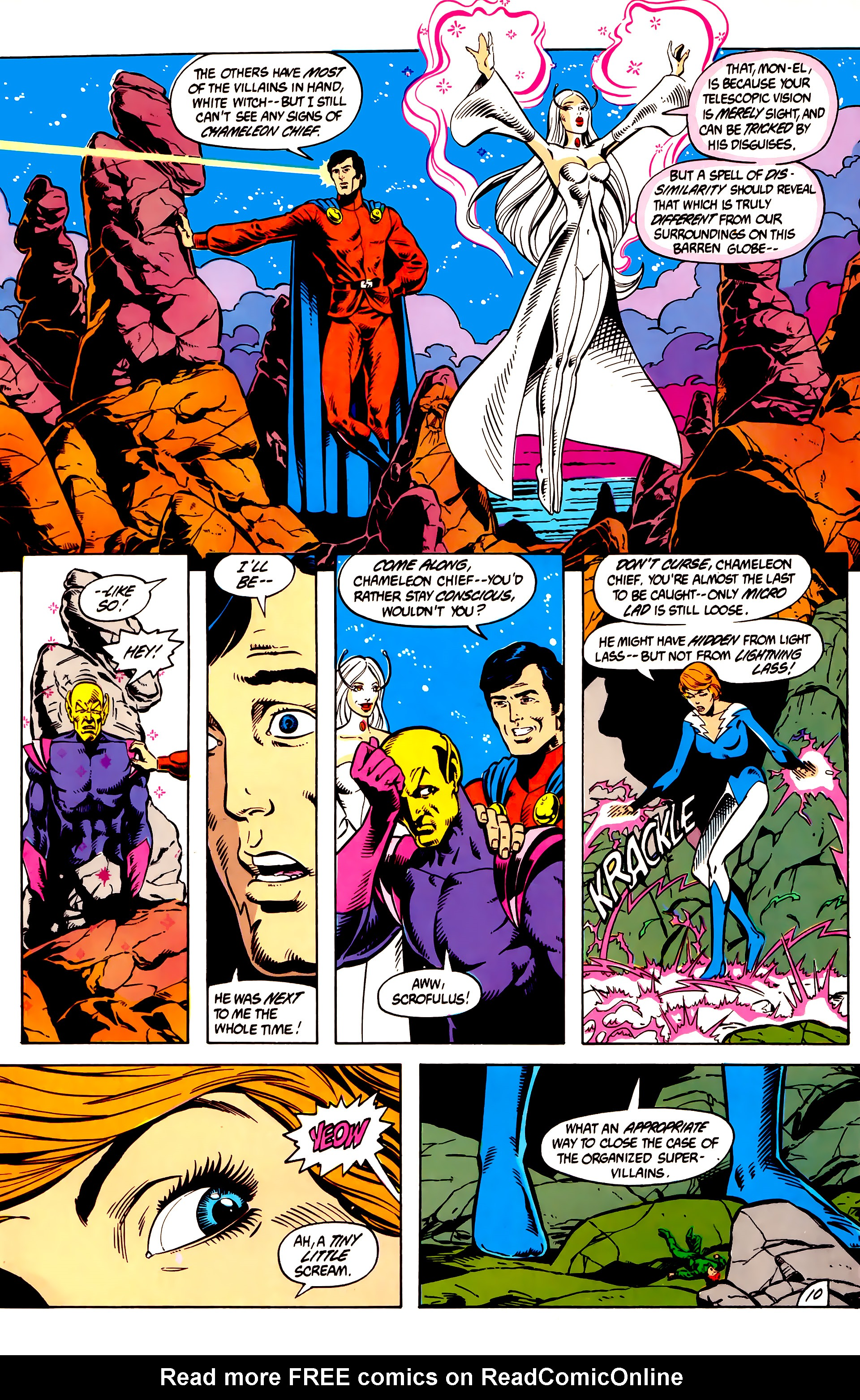 Legion of Super-Heroes (1984) 8 Page 11