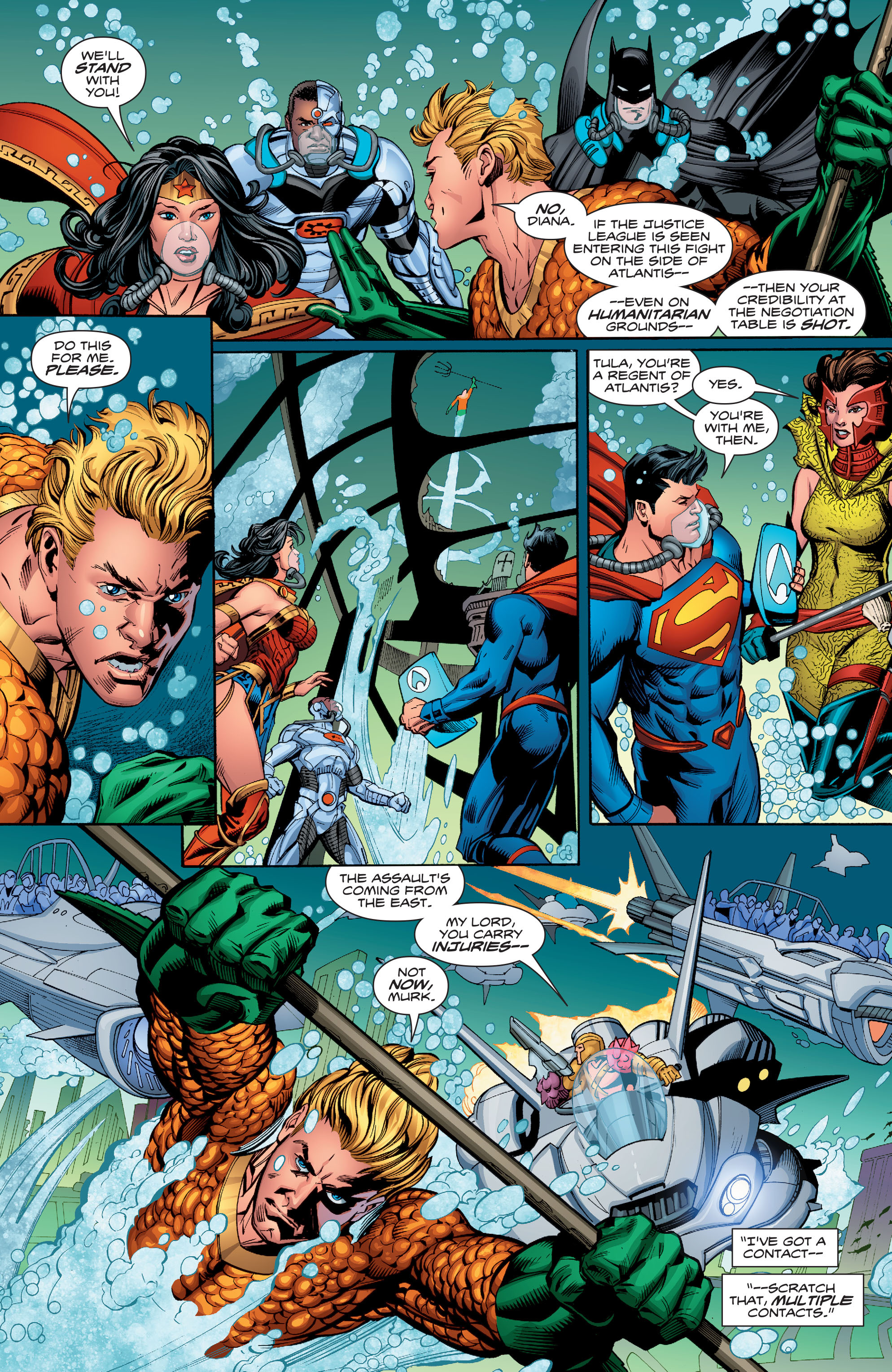 Read online Aquaman (2016) comic -  Issue #13 - 12