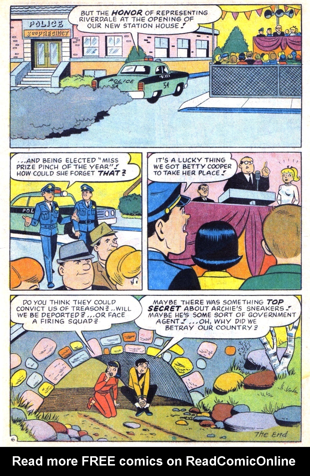 Read online Archie (1960) comic -  Issue #171 - 18