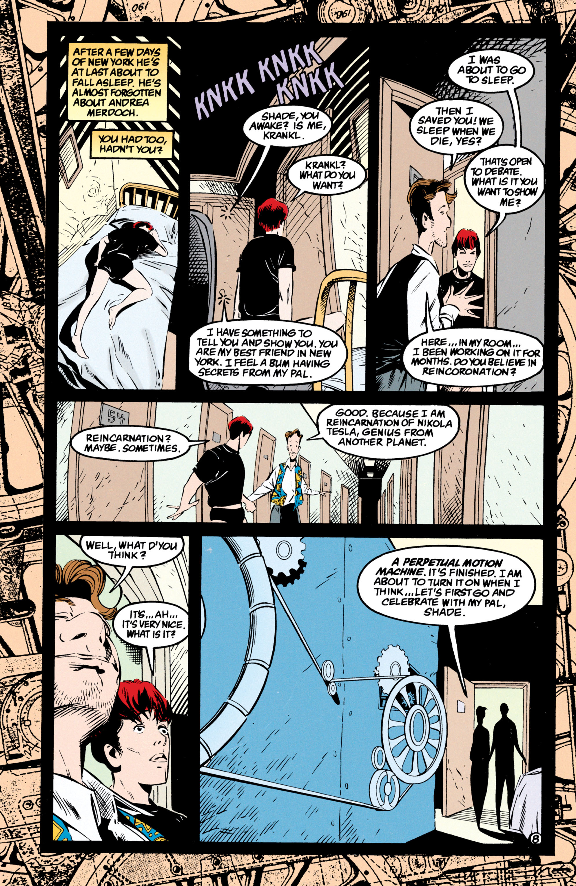Read online Shade, the Changing Man comic -  Issue #54 - 9