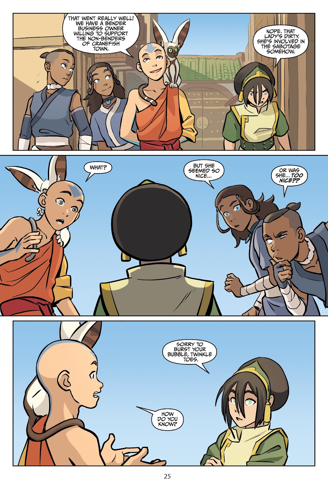 Read online Nickelodeon Avatar: The Last Airbender - Imbalance comic -  Issue # TPB 2 - 26