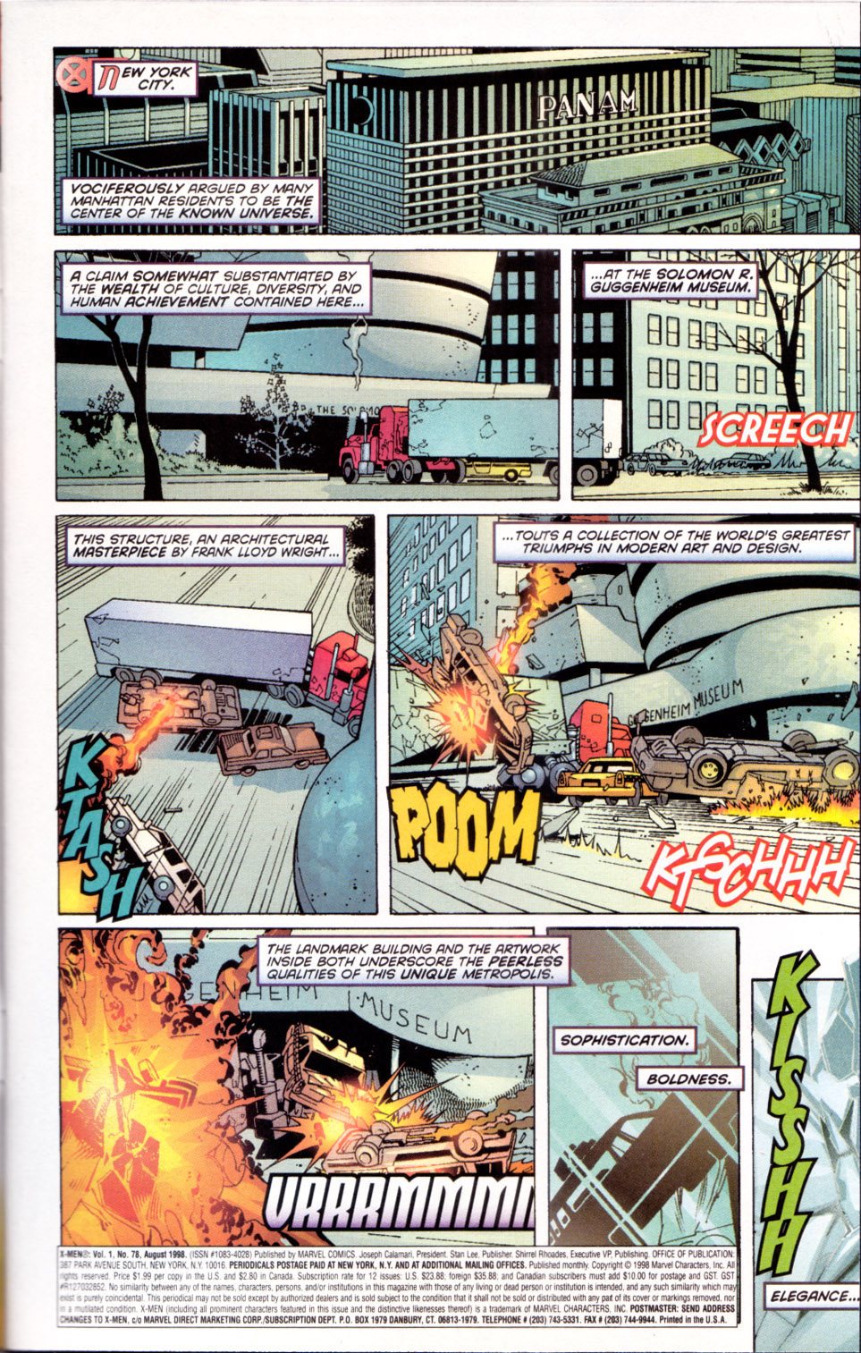 X-Men (1991) 78 Page 1