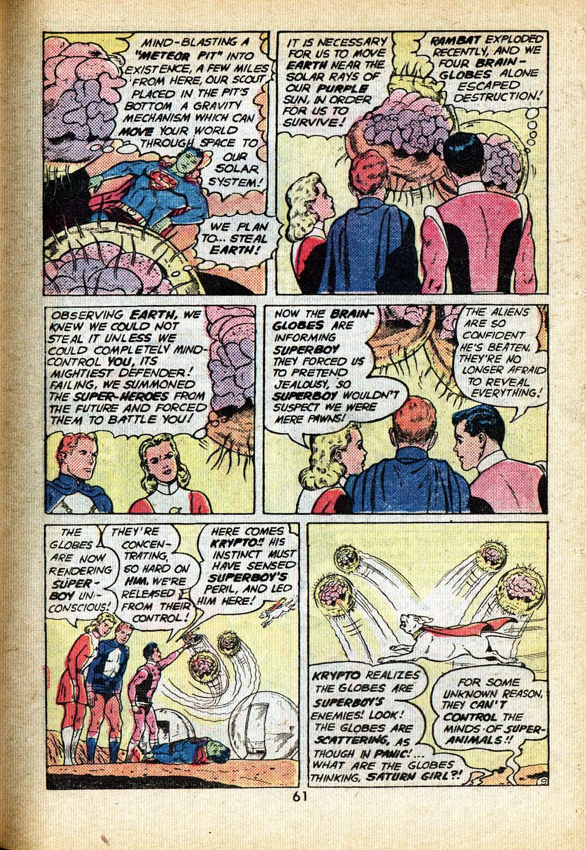Read online Adventure Comics (1938) comic -  Issue #495 - 61