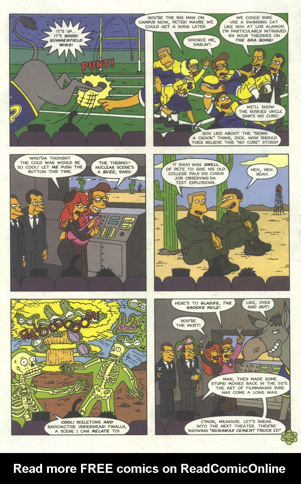 Read online Simpsons Comics comic -  Issue #30 - 30