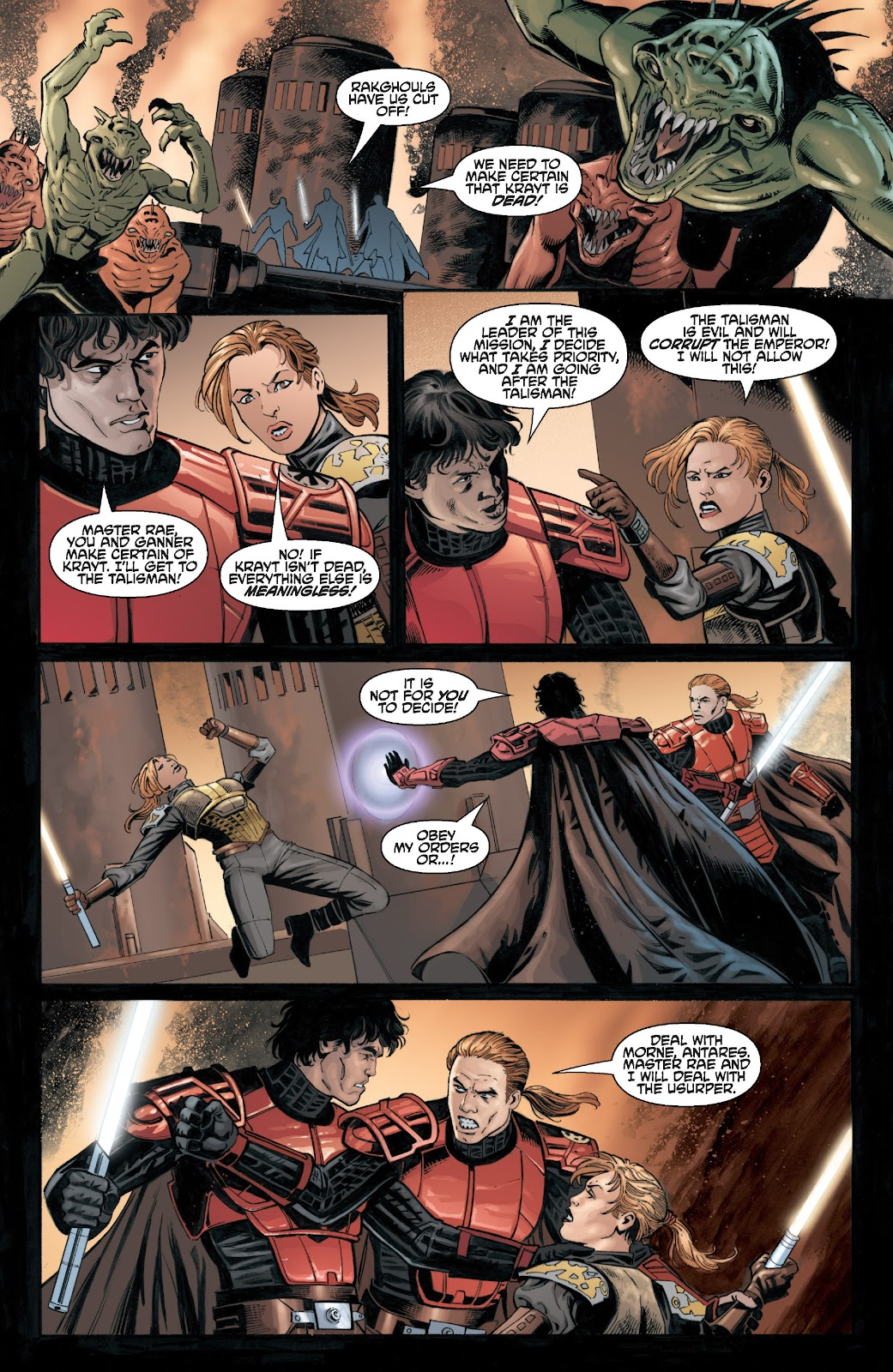 Read online Star Wars Legends: Legacy - Epic Collection comic -  Issue # TPB 2 (Part 3) - 65