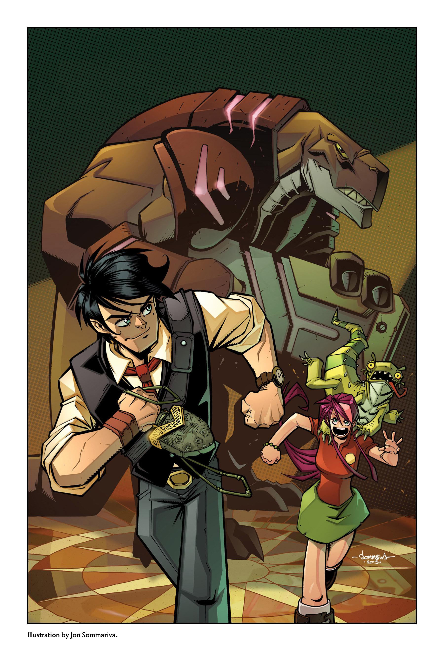 Read online Rexodus comic -  Issue # Full - 120