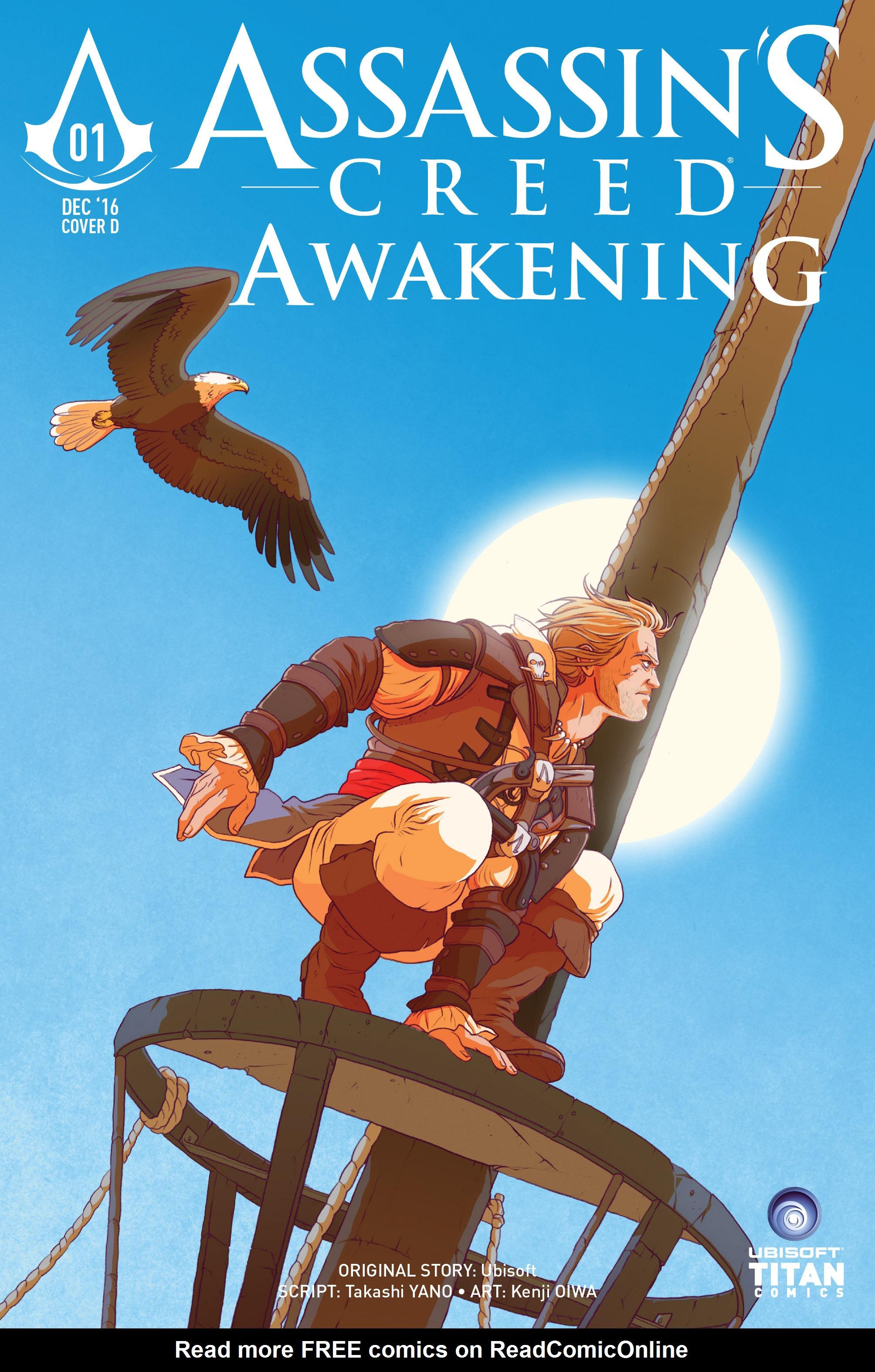 Read online Assassin's Creed: Awakening comic -  Issue #1 - 42
