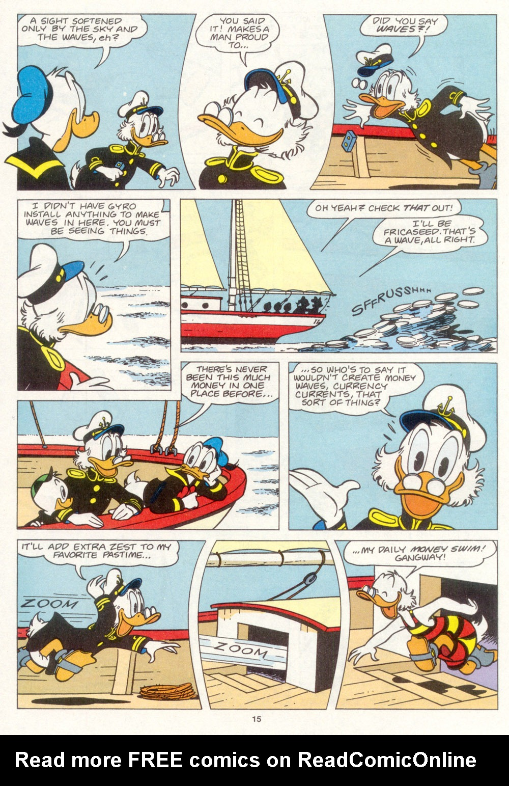 Read online Uncle Scrooge (1953) comic -  Issue #266 - 17
