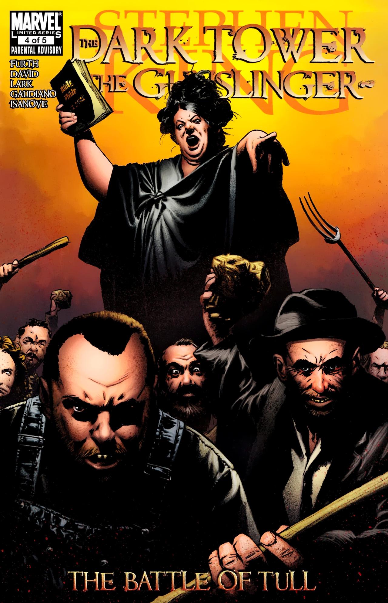 Read online Dark Tower: The Gunslinger - The Battle of Tull comic -  Issue #4 - 1