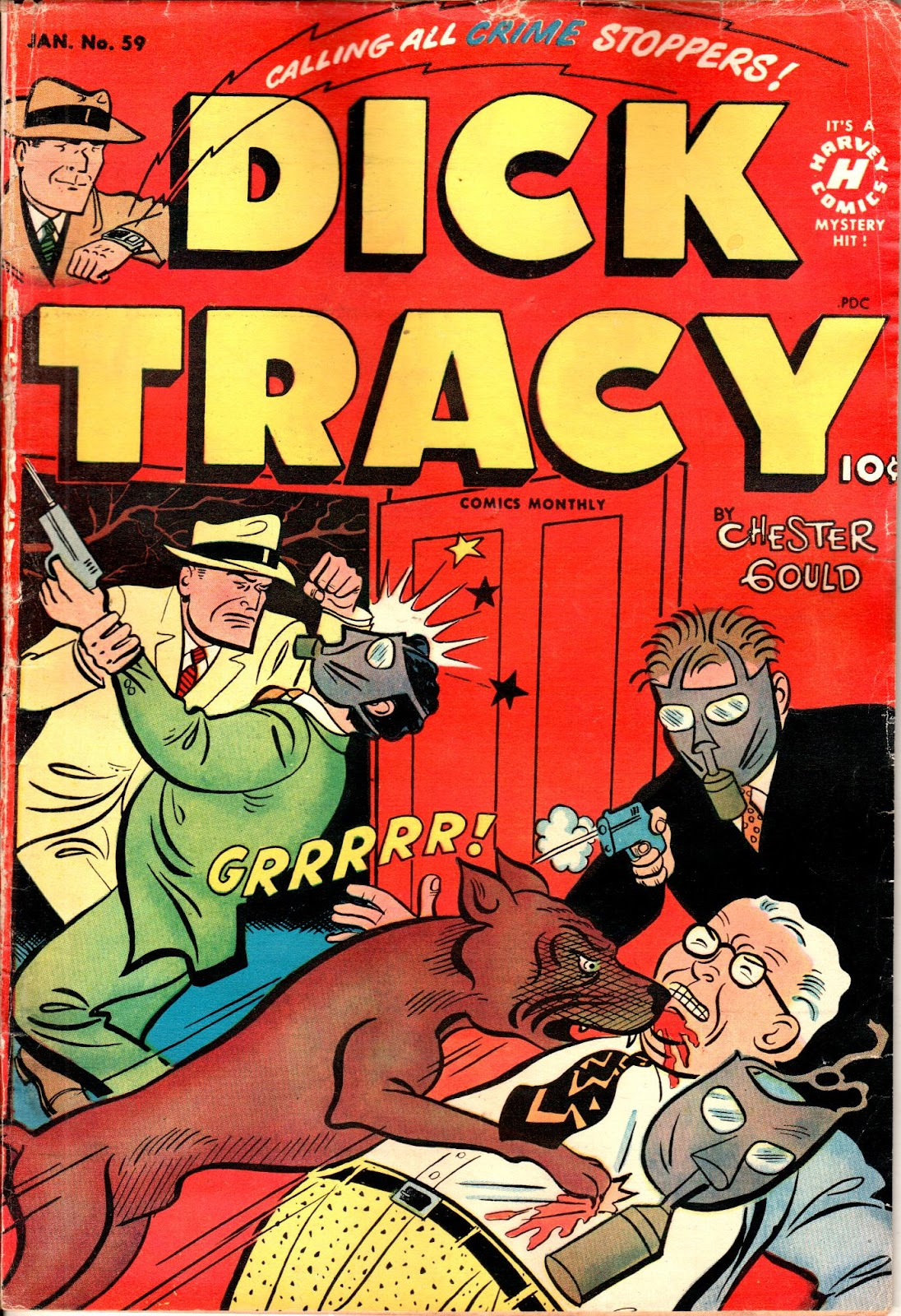 Dick Tracy (1950) 59 Page 1