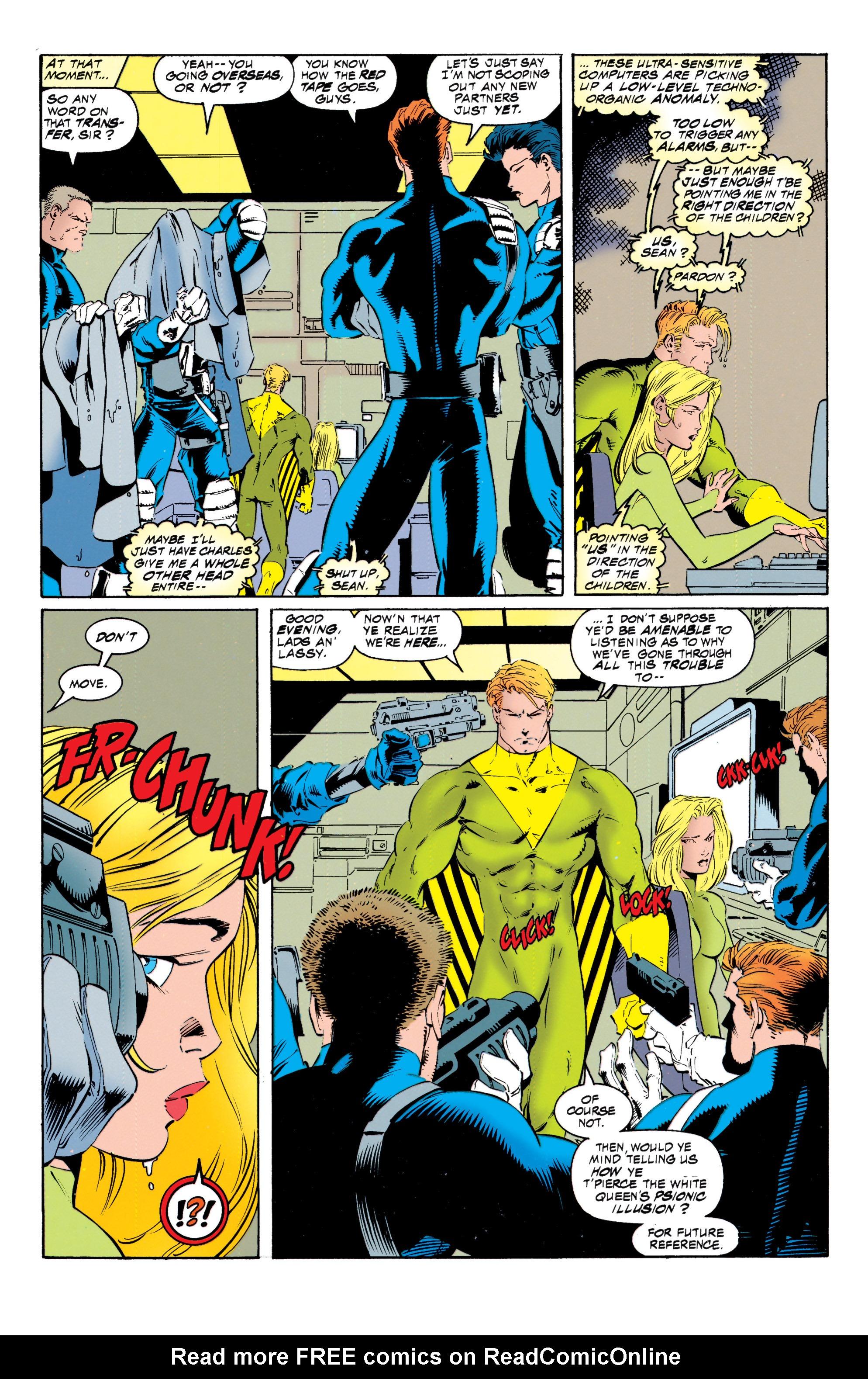 Read online Uncanny X-Men (1963) comic -  Issue #317 - 19