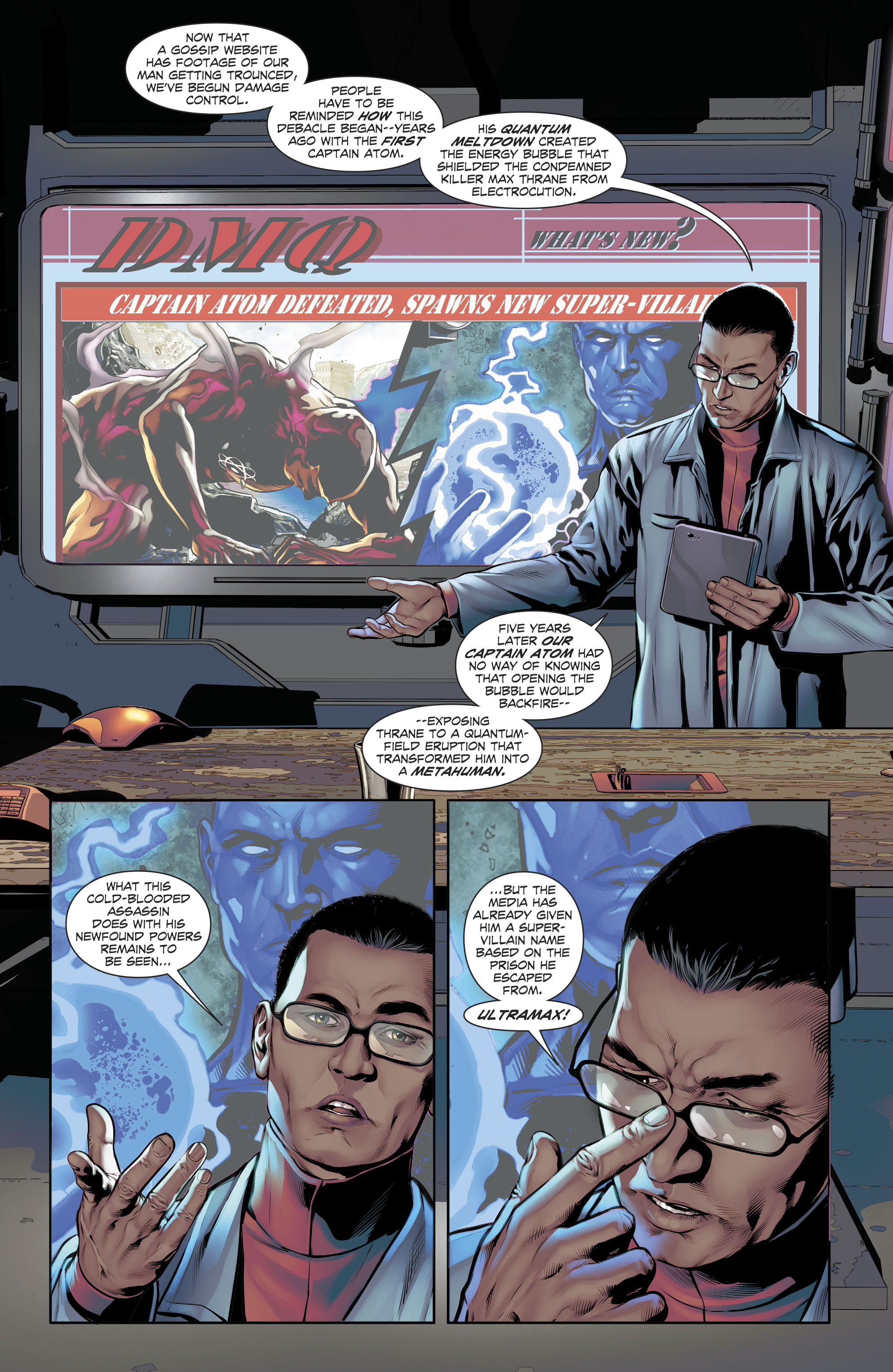Read online The Fall and Rise of Captain Atom comic -  Issue #5 - 3