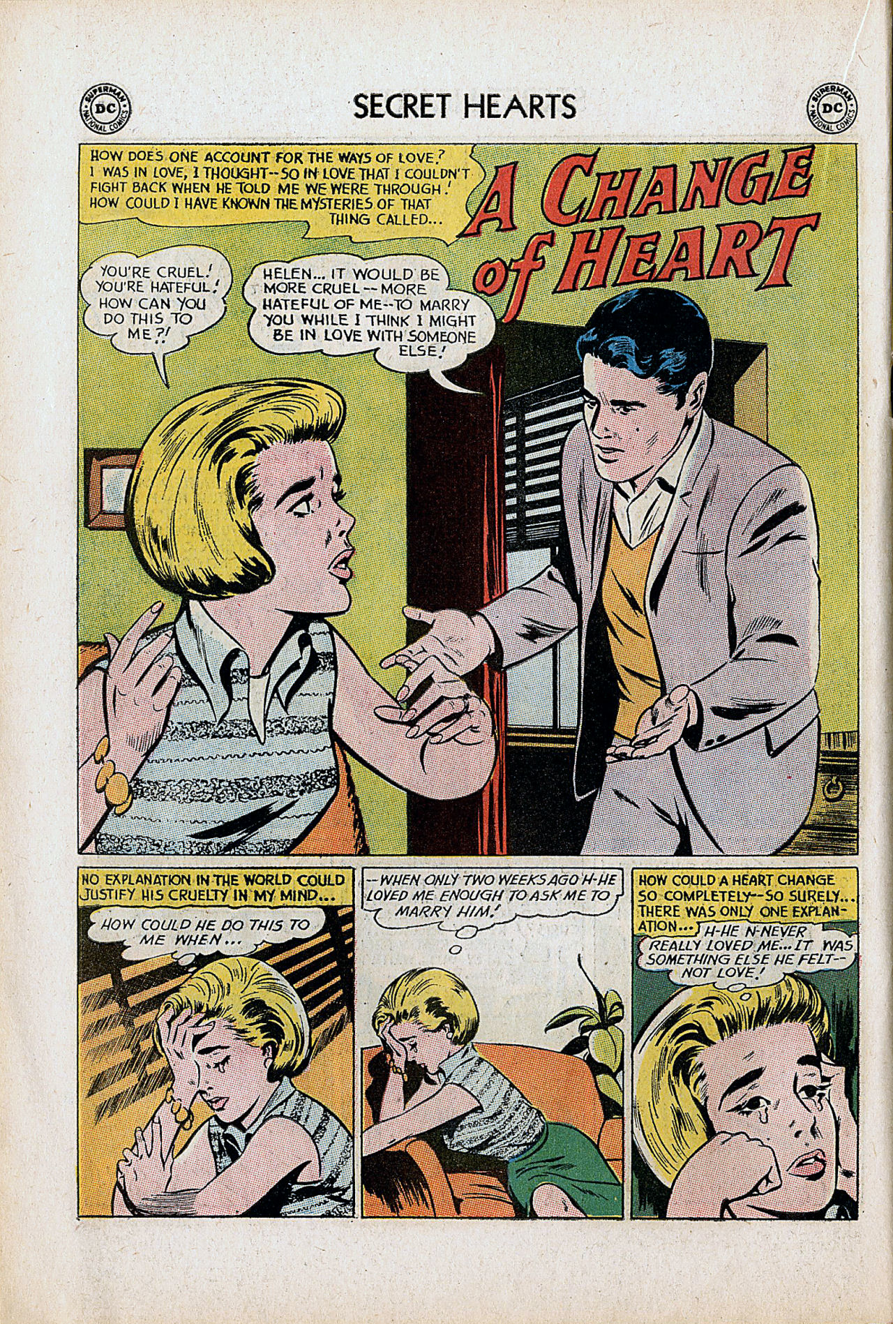 Read online Secret Hearts comic -  Issue #90 - 18