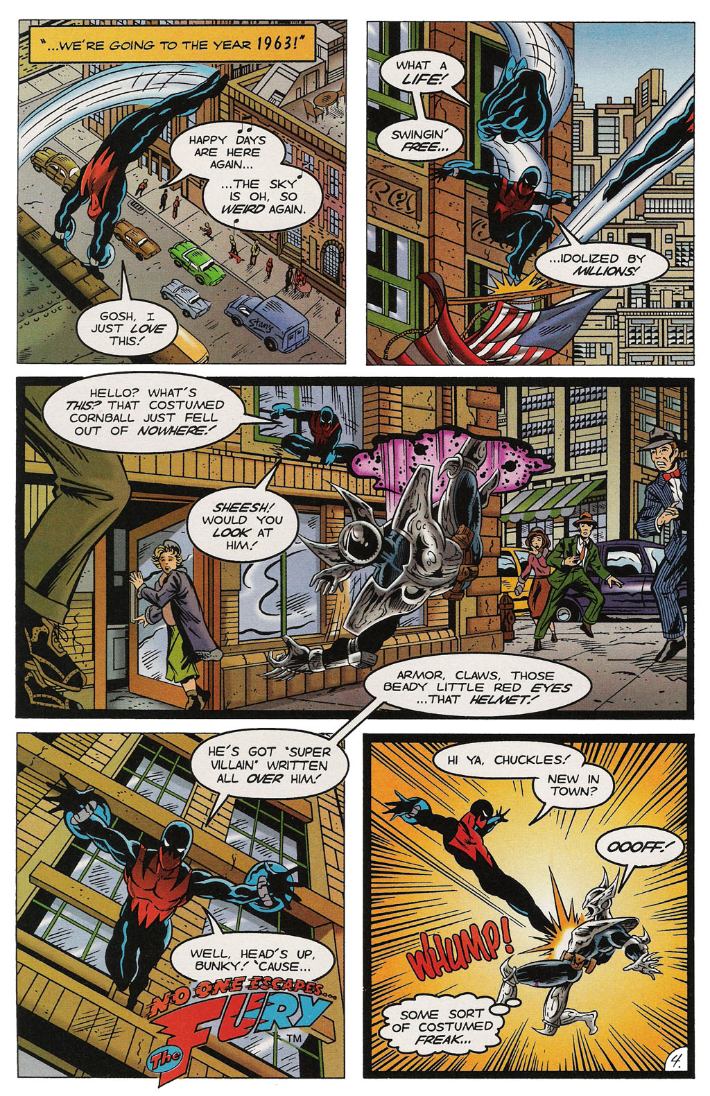 Read online ShadowHawk comic -  Issue #14 - 5