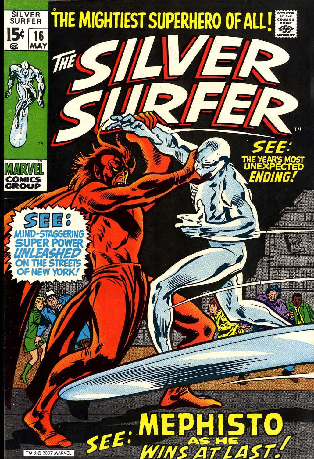 Silver Surfer (1968) 16 Page 1