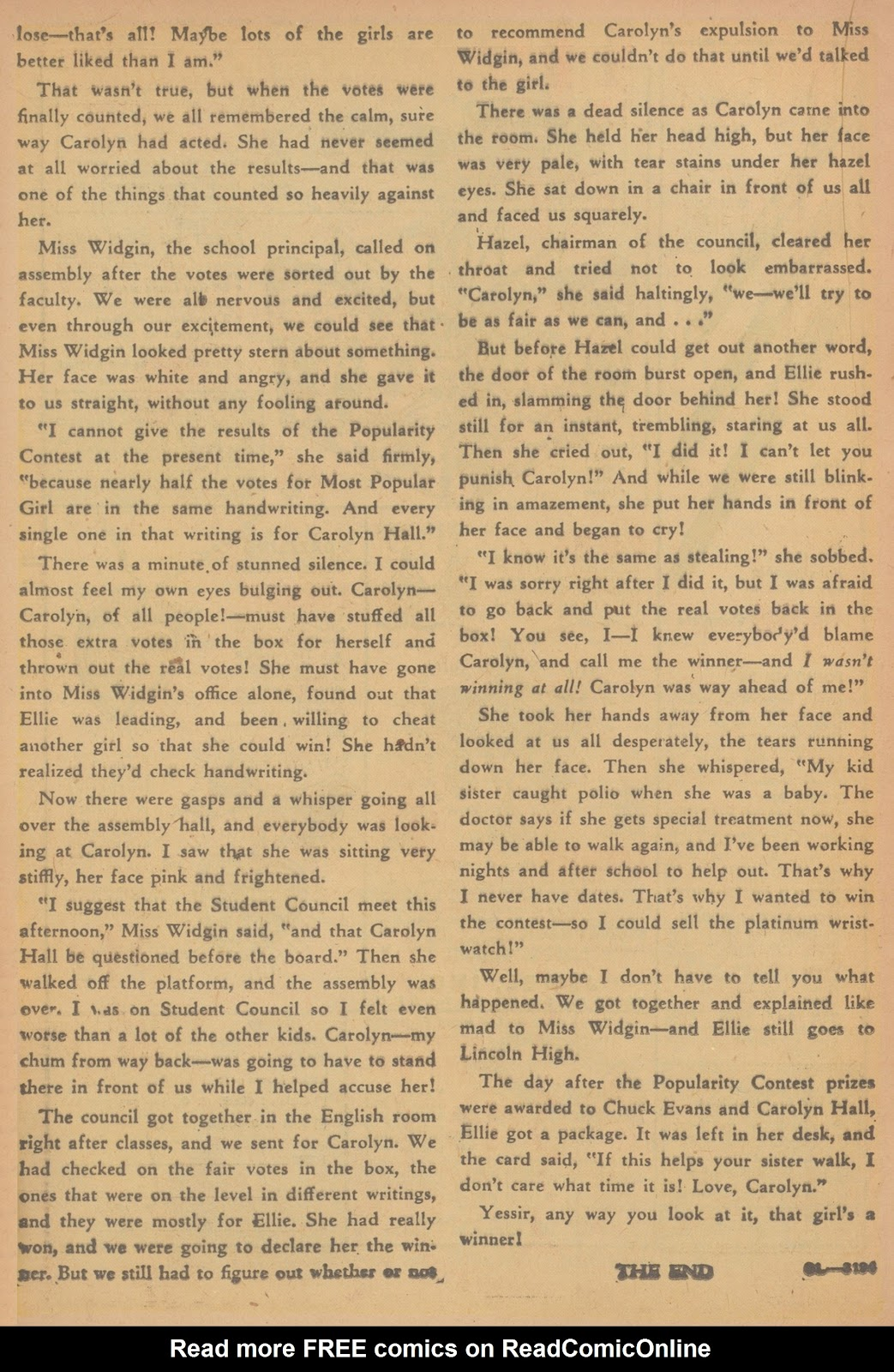 Read online Nellie The Nurse (1945) comic -  Issue #21 - 28