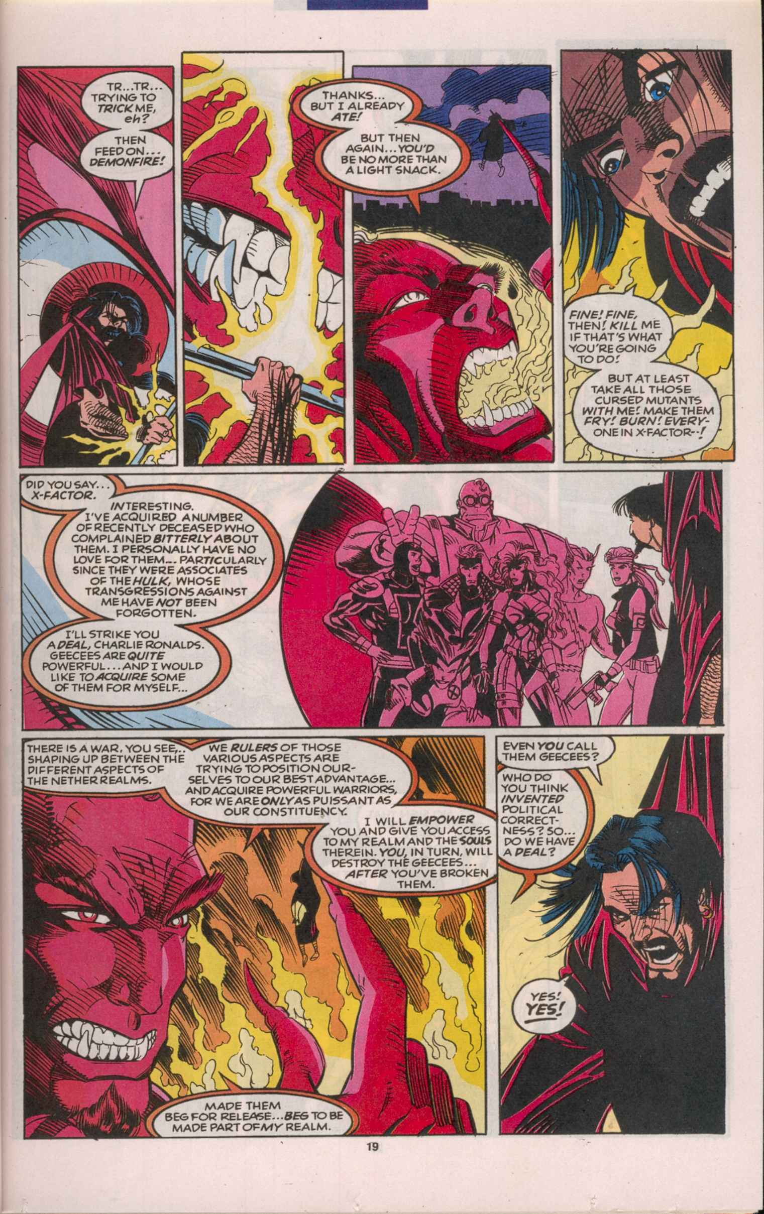 Read online X-Factor (1986) comic -  Issue # _ Annual 8 - 18