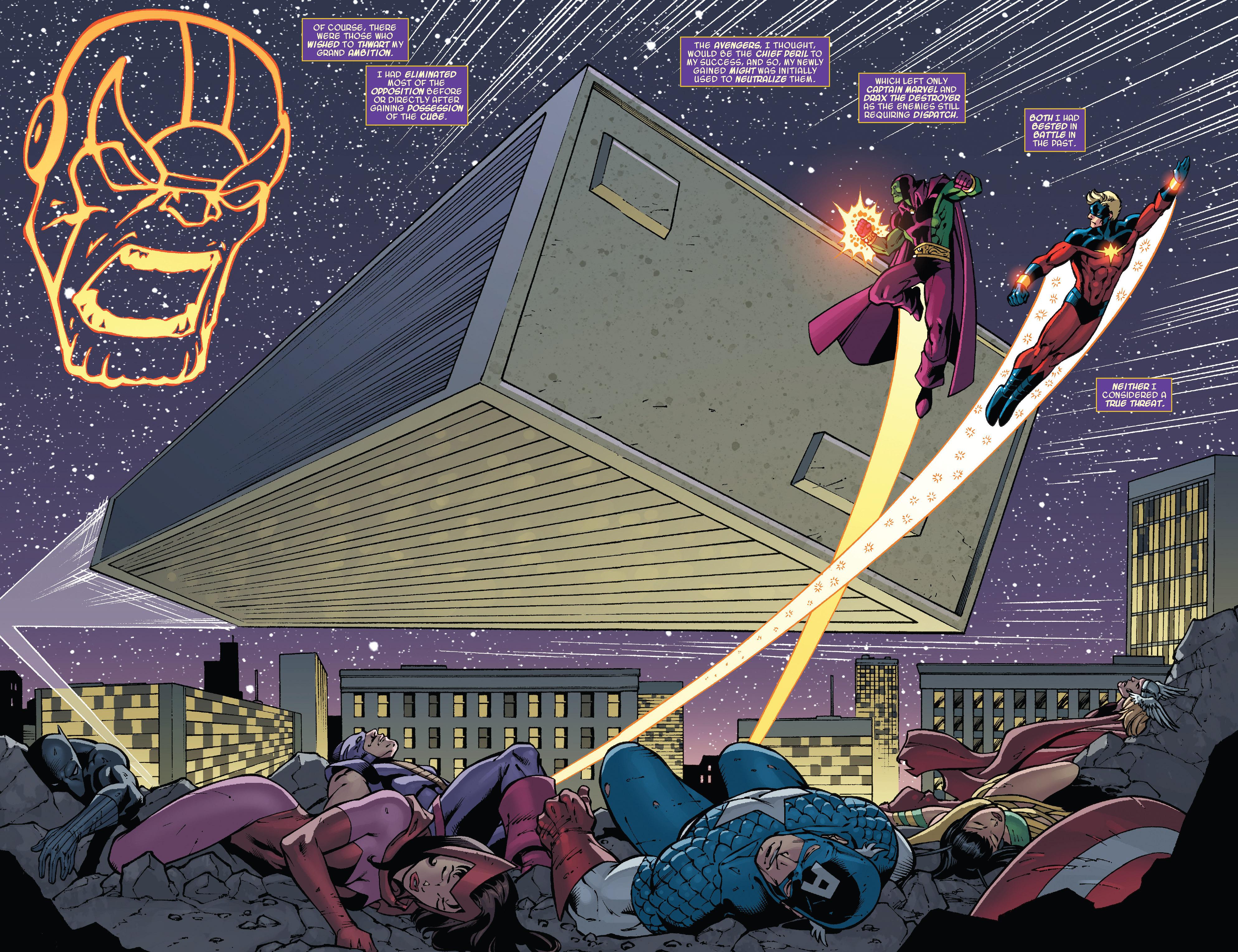 Read online Thanos Annual comic -  Issue # Annual - 4