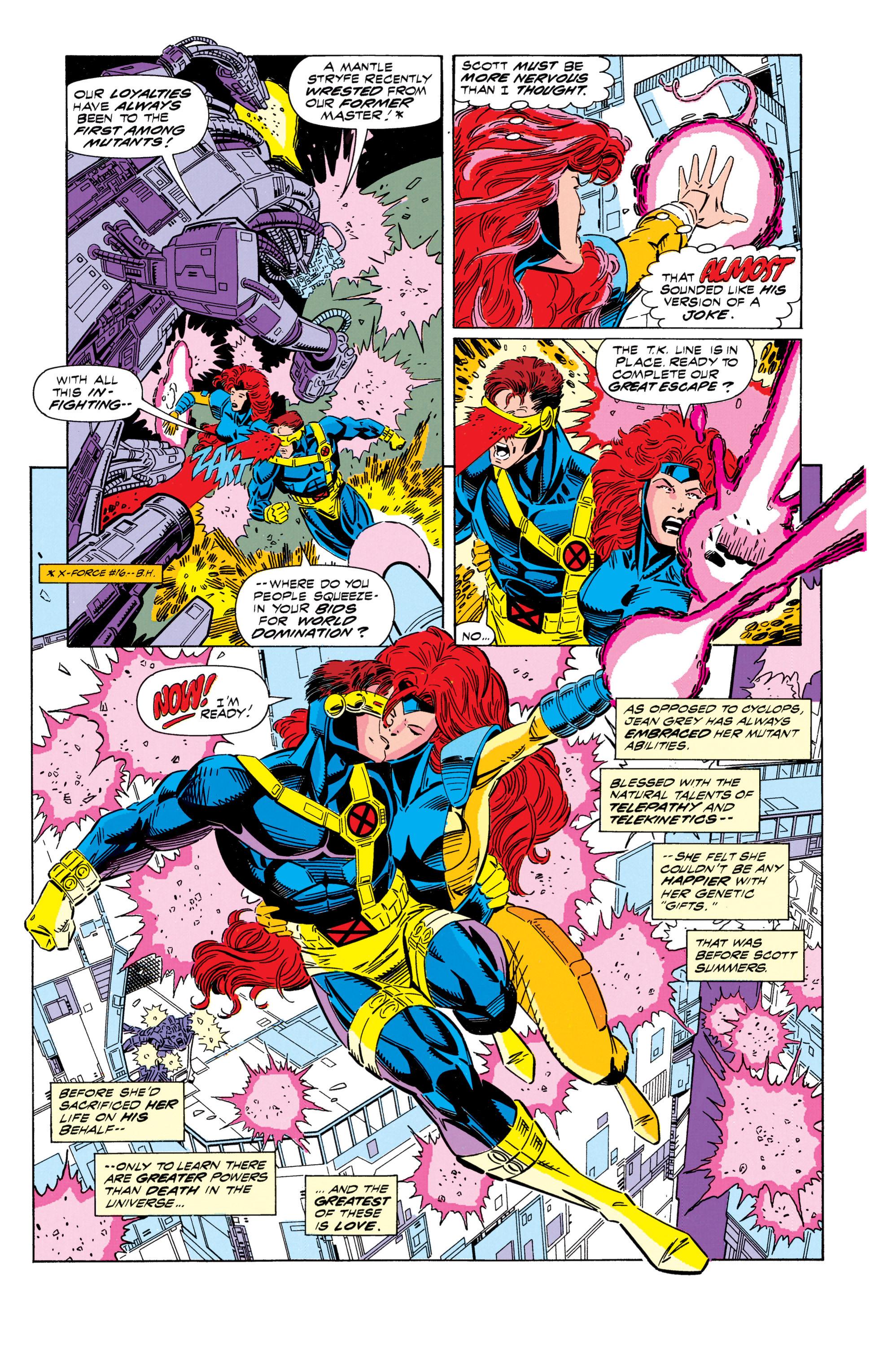 Read online Uncanny X-Men (1963) comic -  Issue #296 - 4