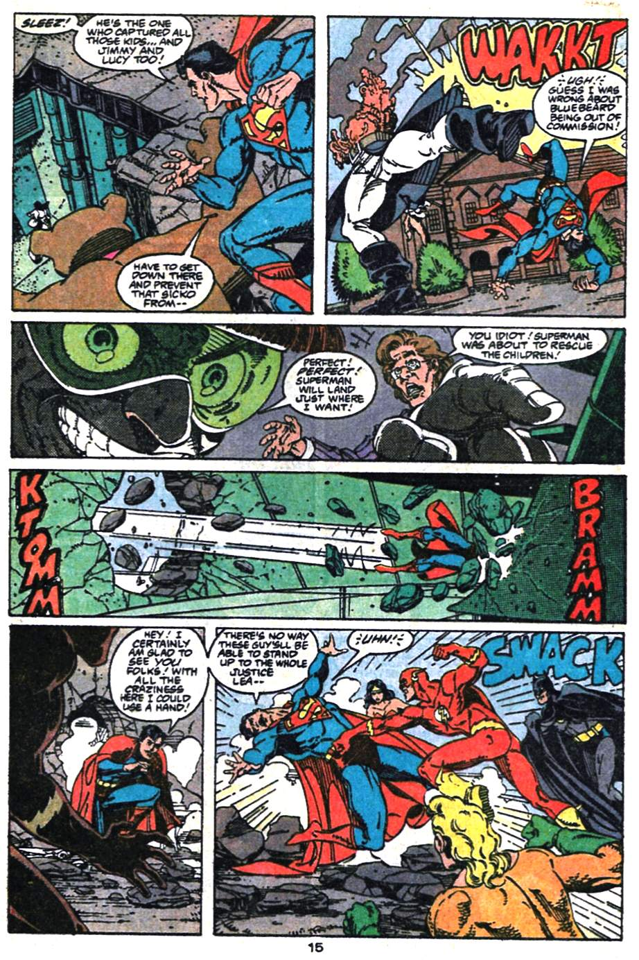 Adventures of Superman (1987) 475 Page 15