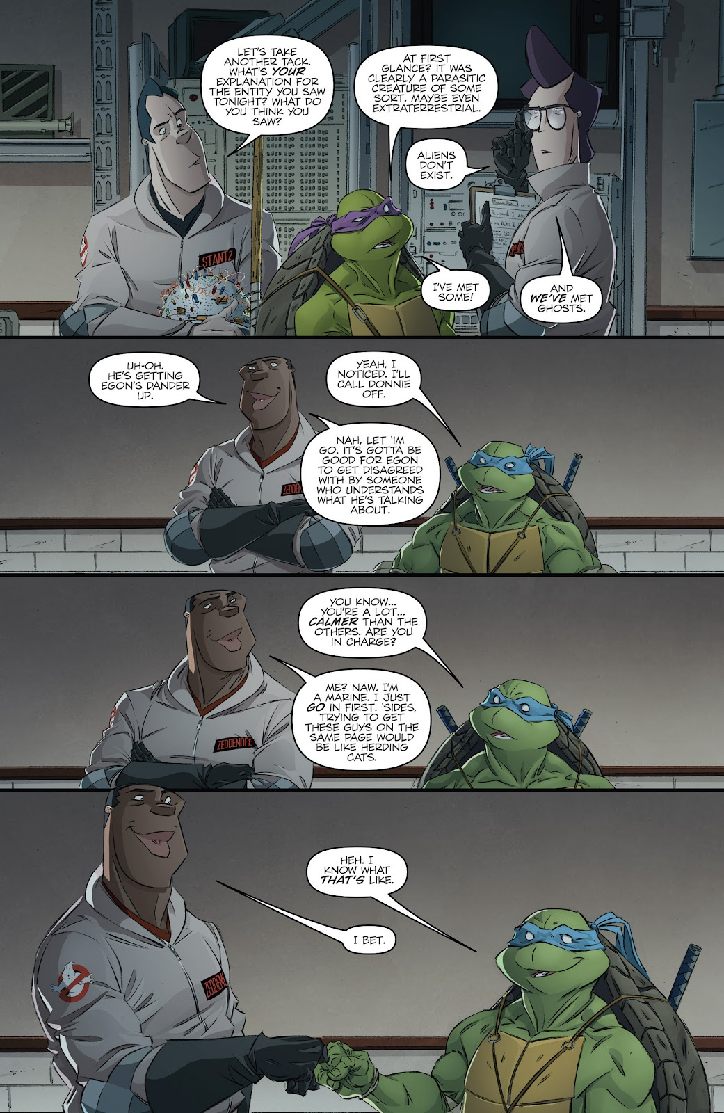 Read online Teenage Mutant Ninja Turtles: The IDW Collection comic -  Issue # TPB 5 (Part 3) - 7