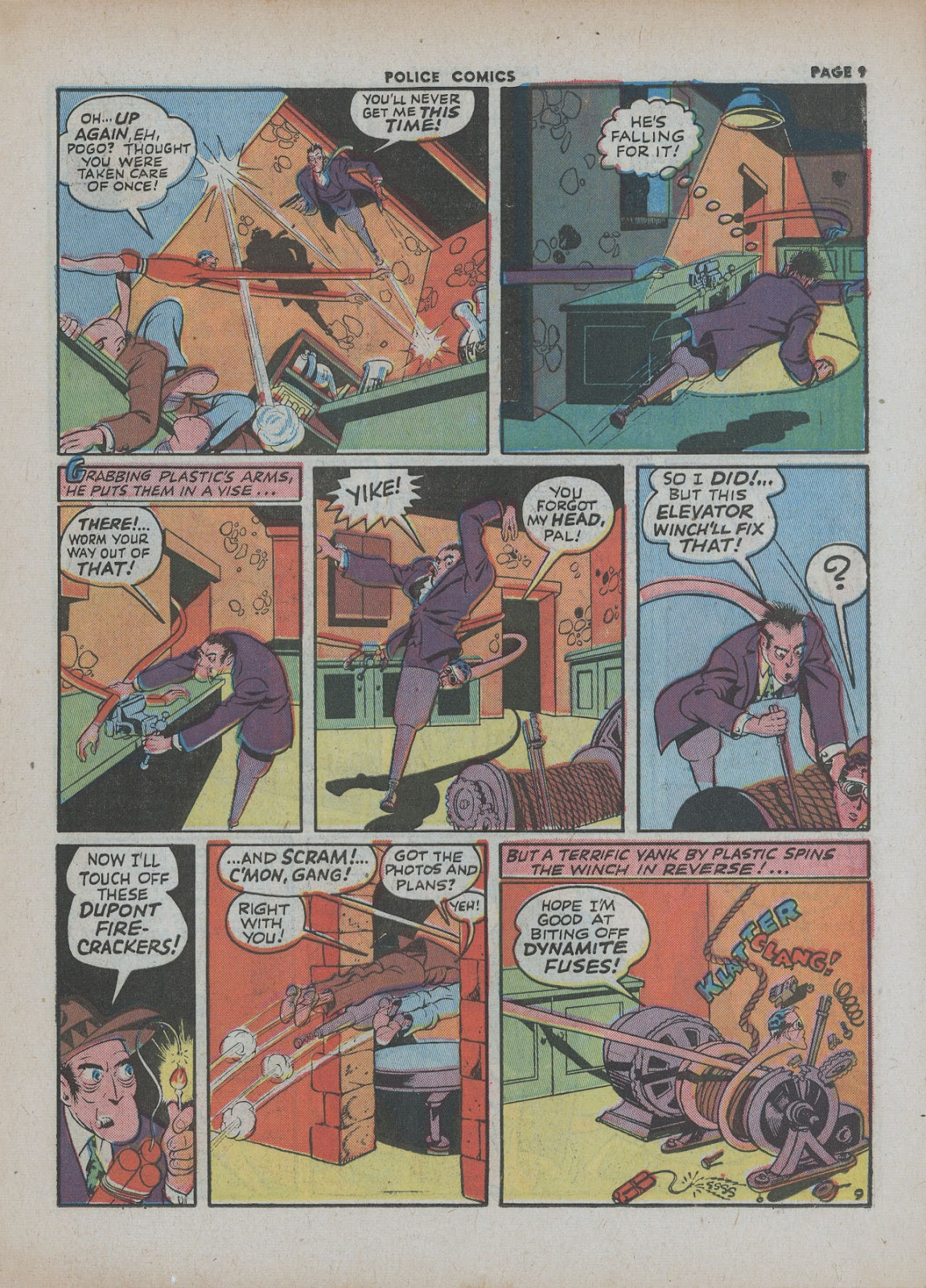 Police Comics issue 18 - Page 11