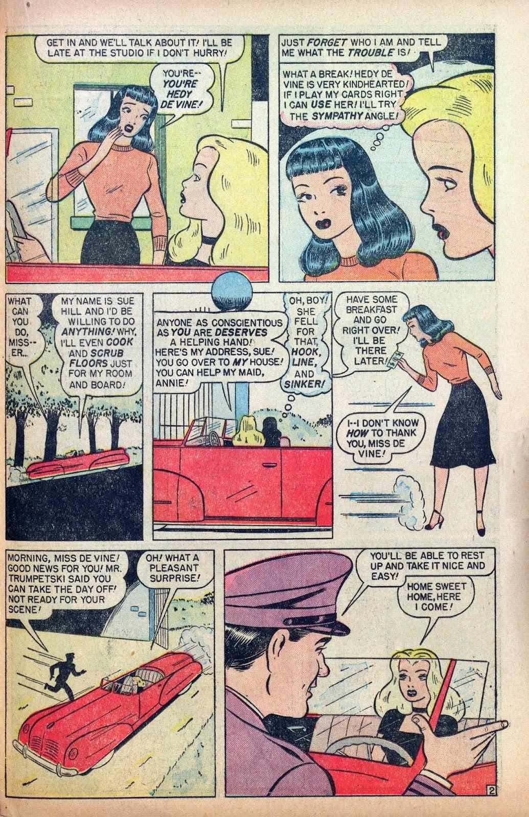 Hedy De Vine Comics issue 31 - Page 31