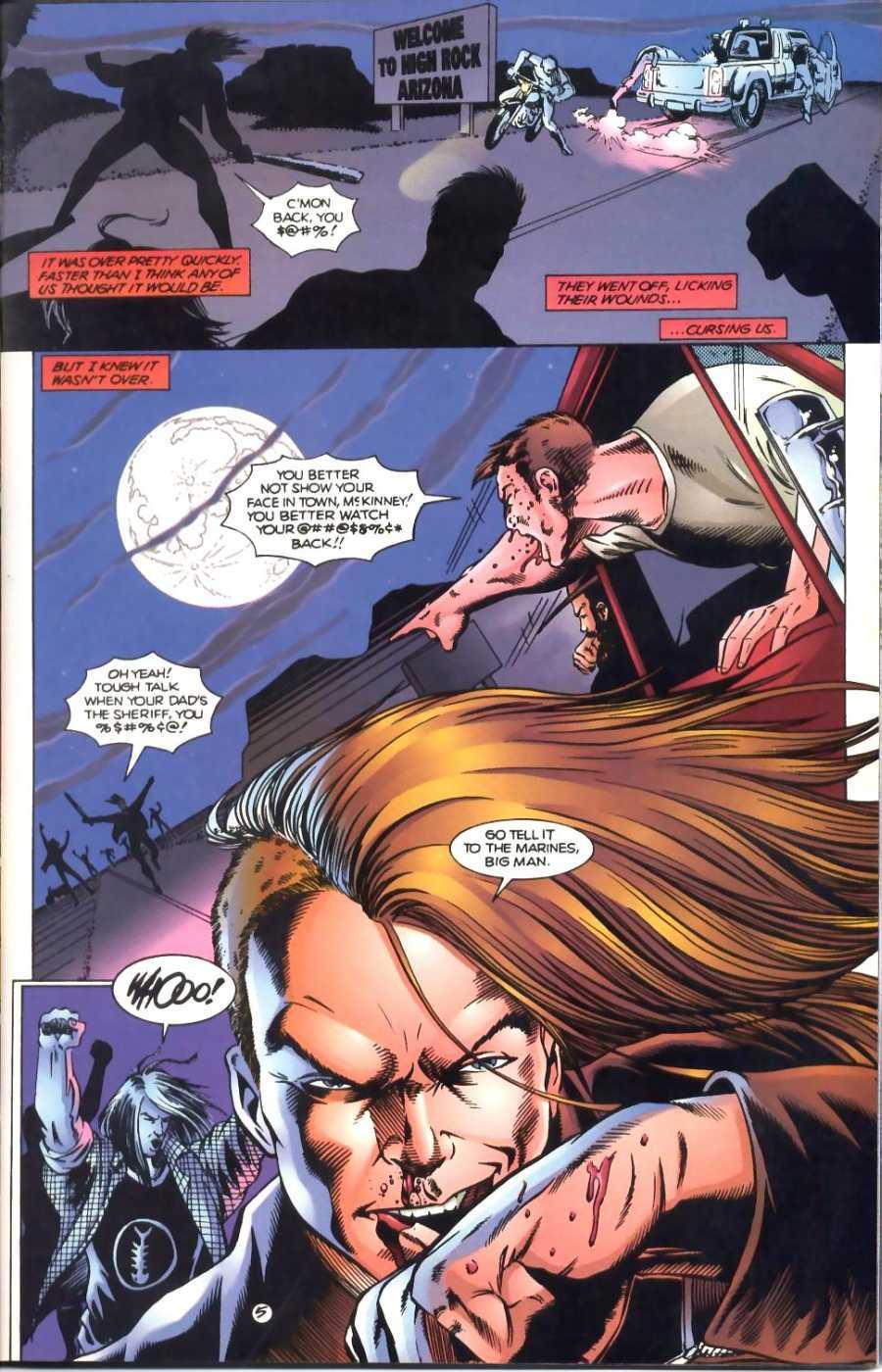 Read online Ultraverse Premiere comic -  Issue #1 - 5