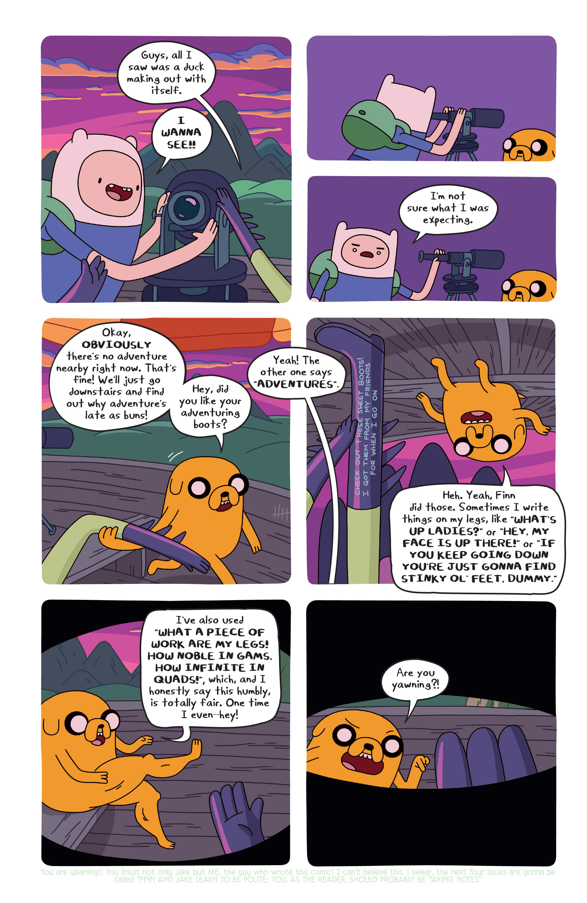 Read online Adventure Time comic -  Issue #20 - 8