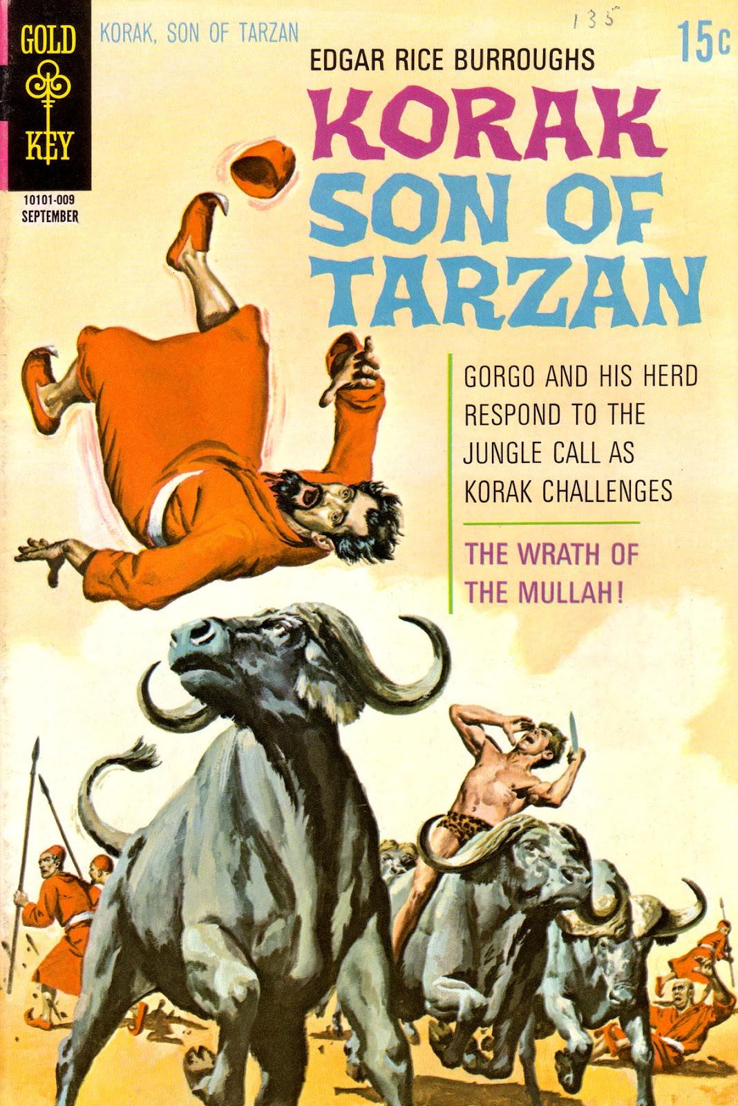 Korak, Son of Tarzan (1964) issue 37 - Page 1