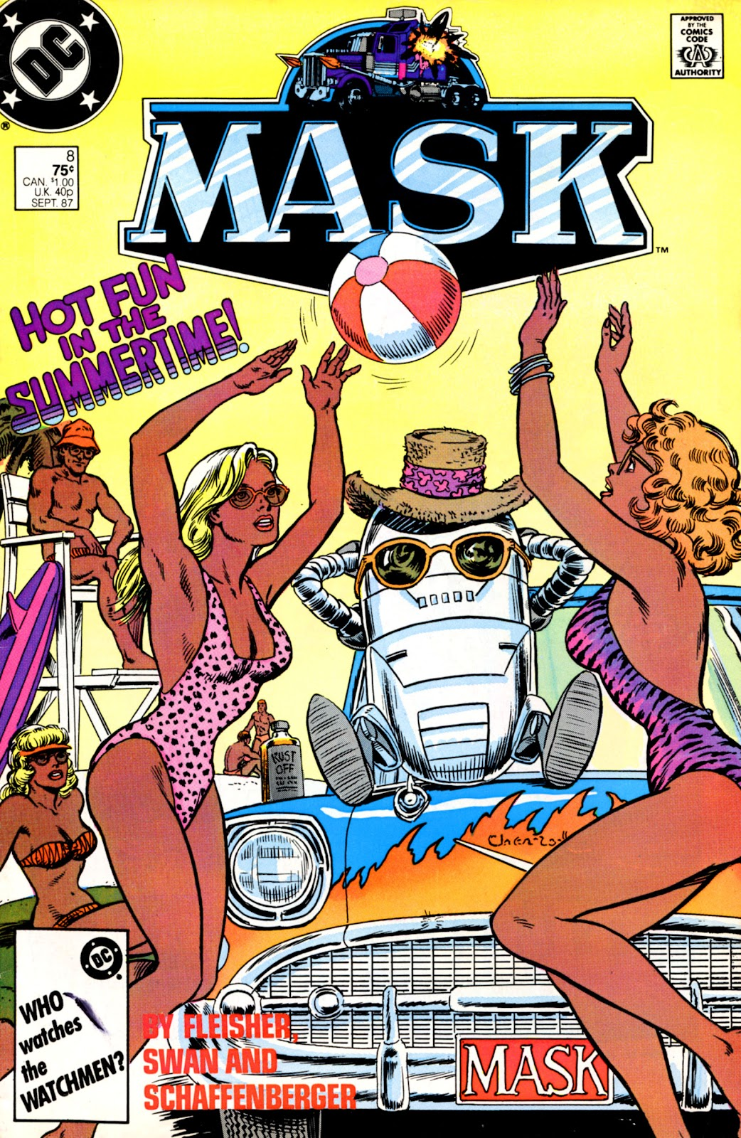 MASK (1987) issue 8 - Page 1