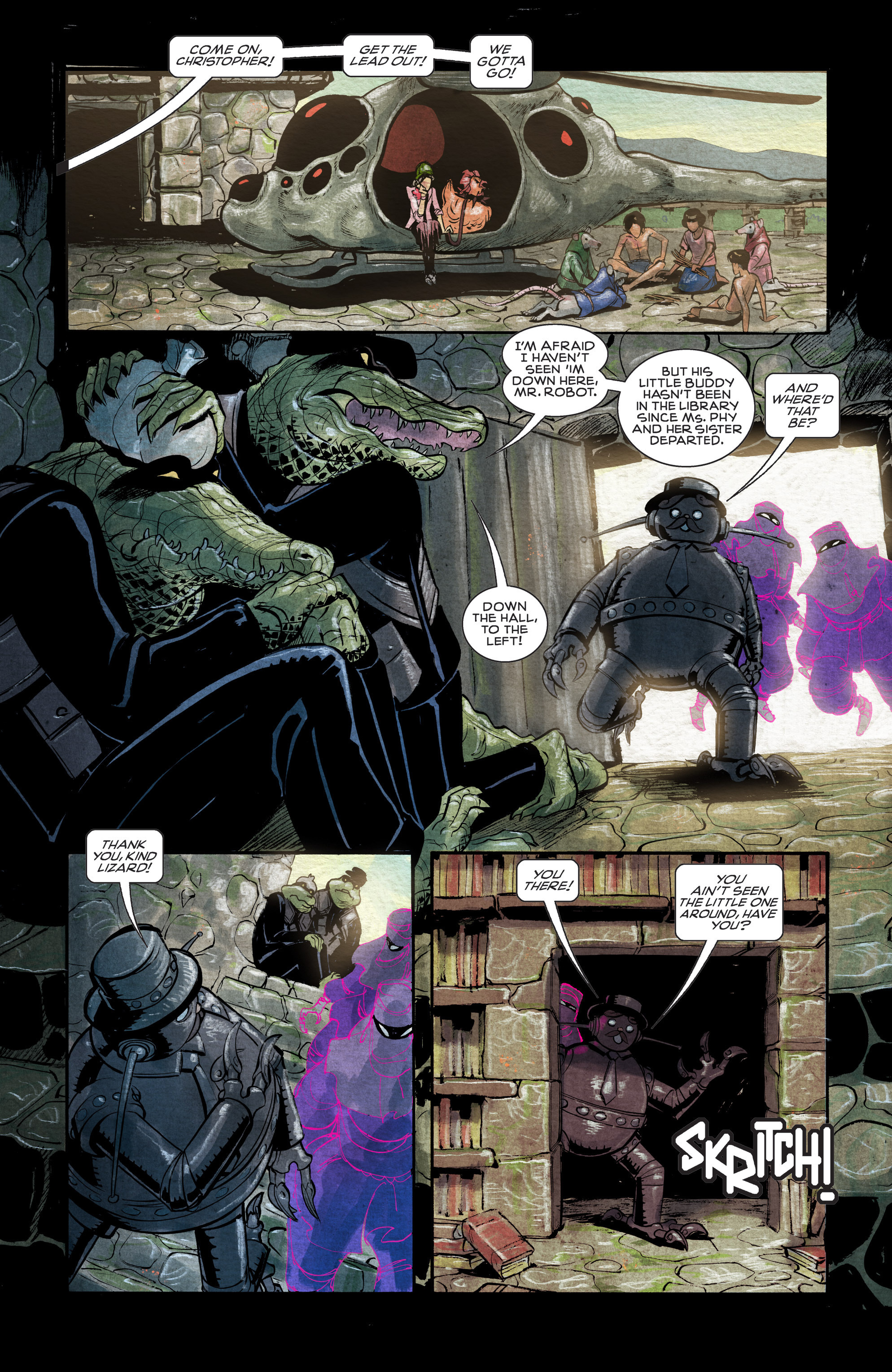 Read online Shutter comic -  Issue #11 - 9