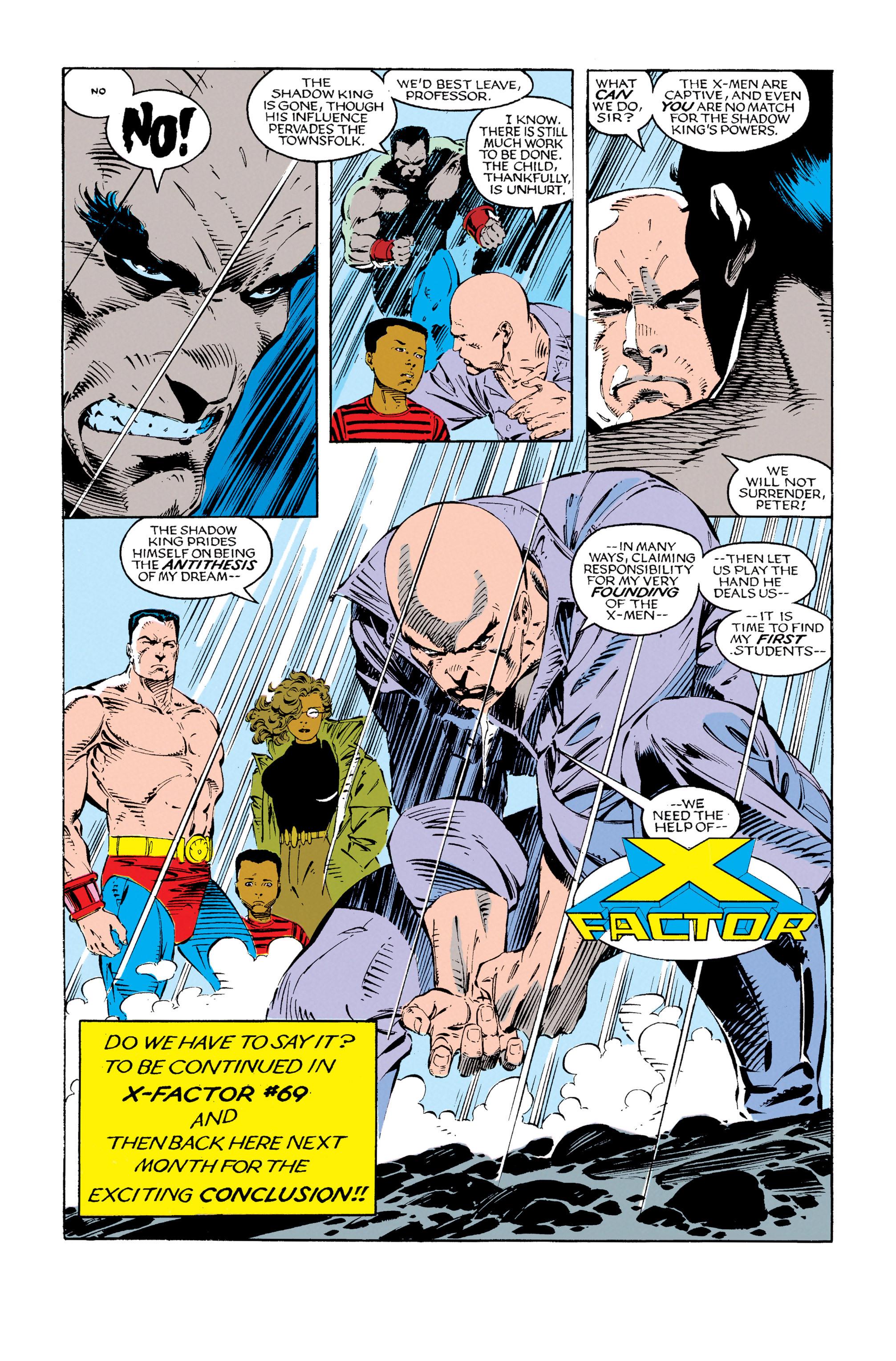 Read online Uncanny X-Men (1963) comic -  Issue #279 - 24
